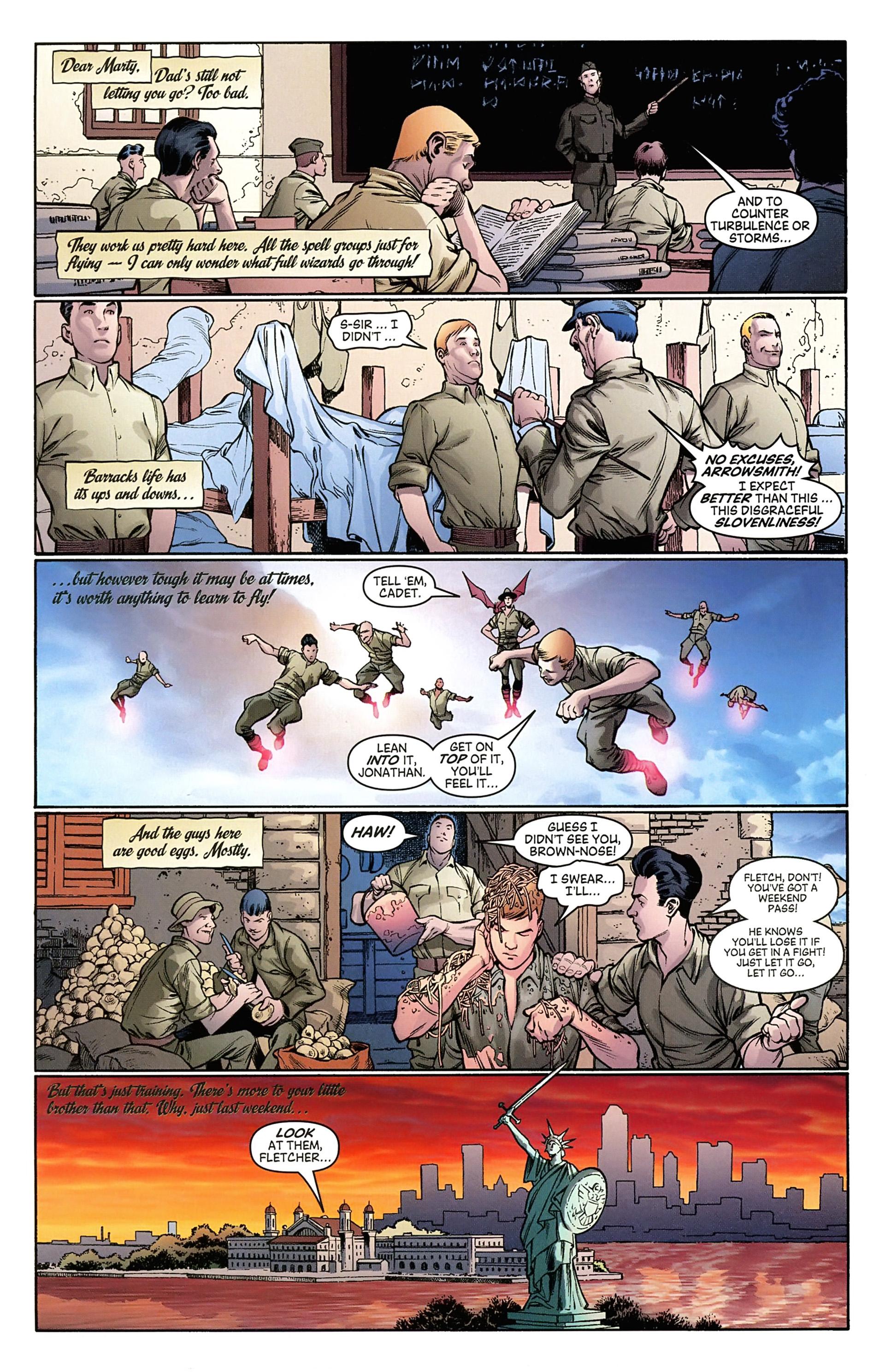 Read online Arrowsmith comic -  Issue #2 - 10