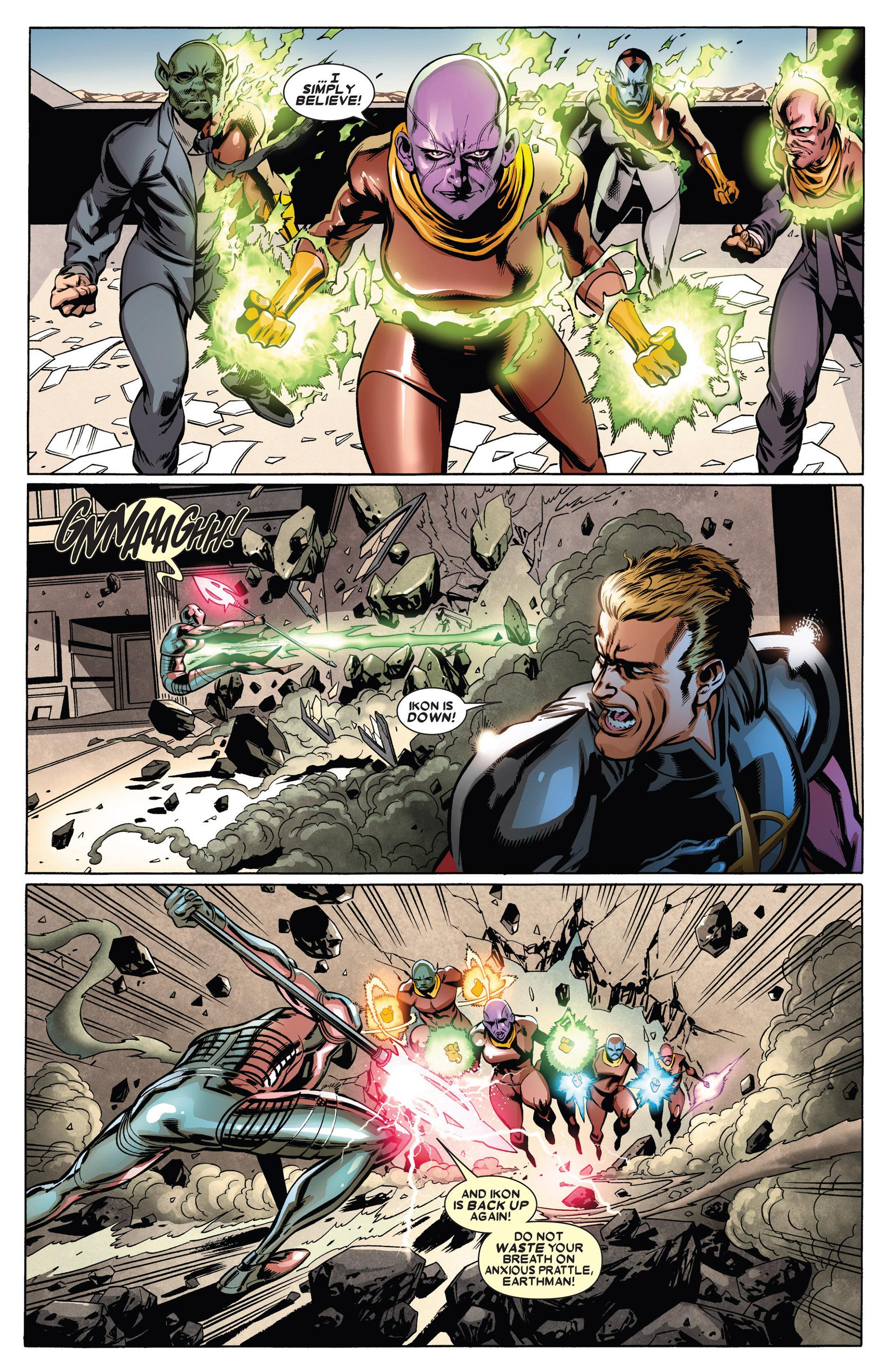 Read online Annihilators: Earthfall comic -  Issue #1 - 19
