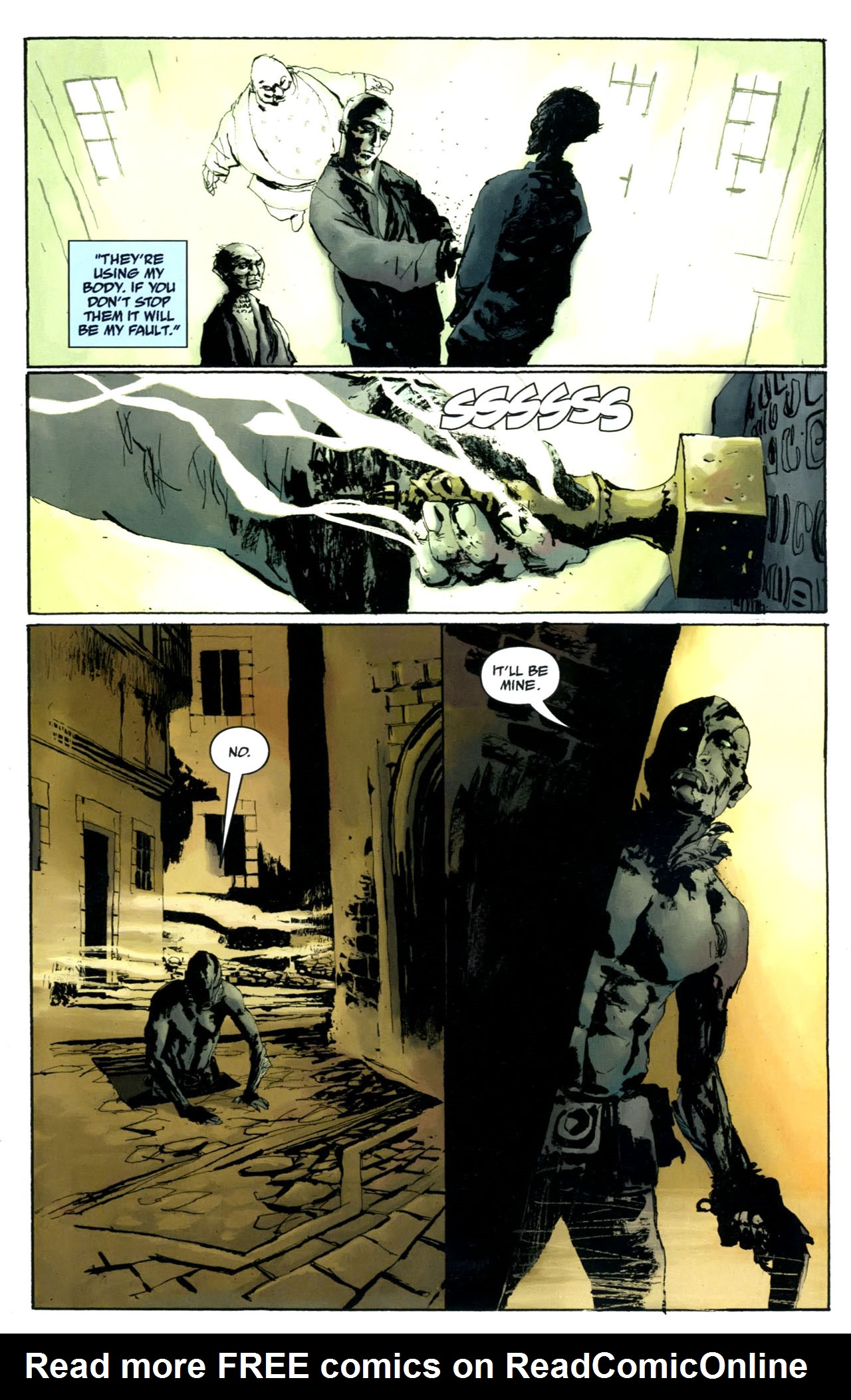 Read online Abe Sapien: The Drowning comic -  Issue #5 - 7
