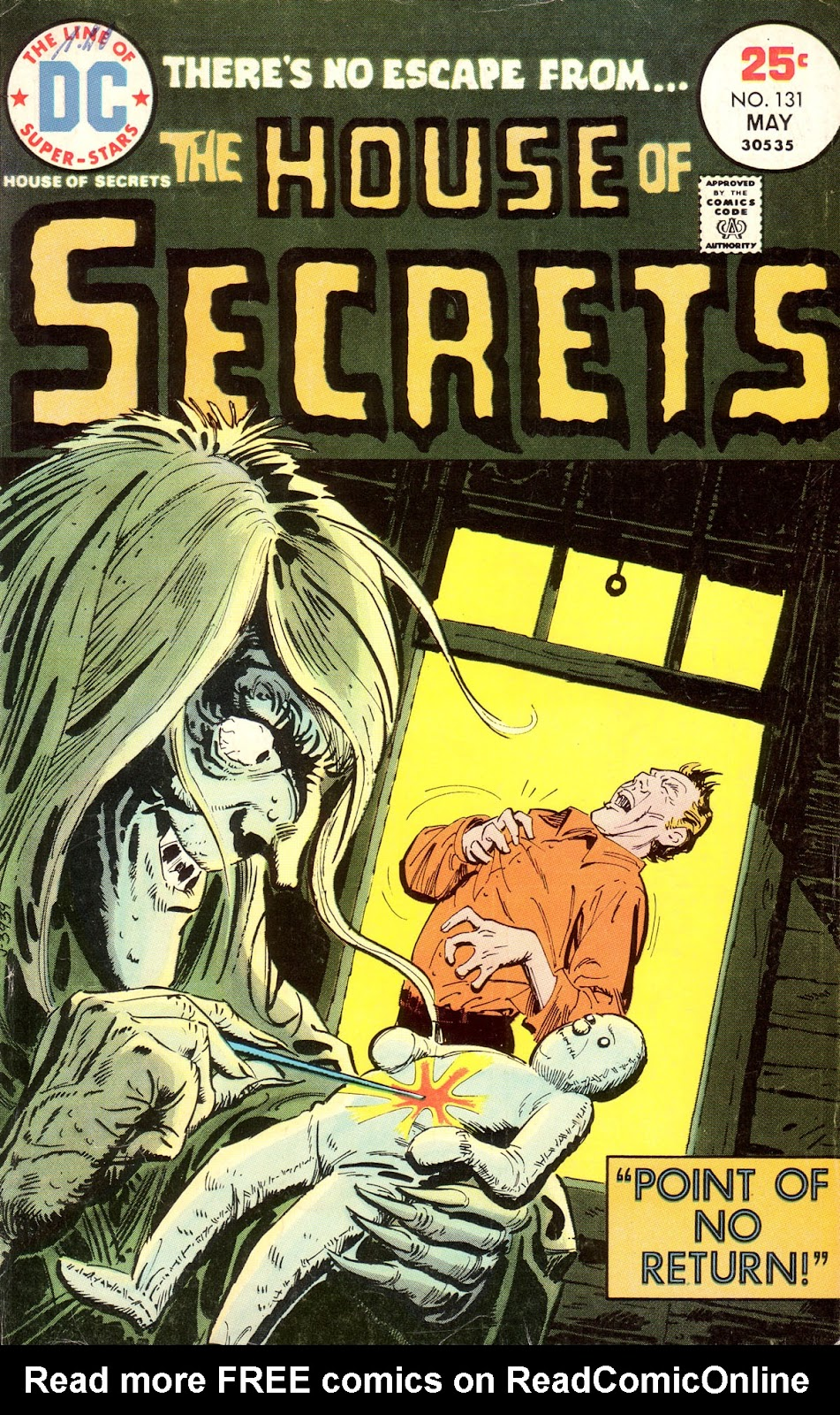 House of Secrets (1956) issue 131 - Page 1