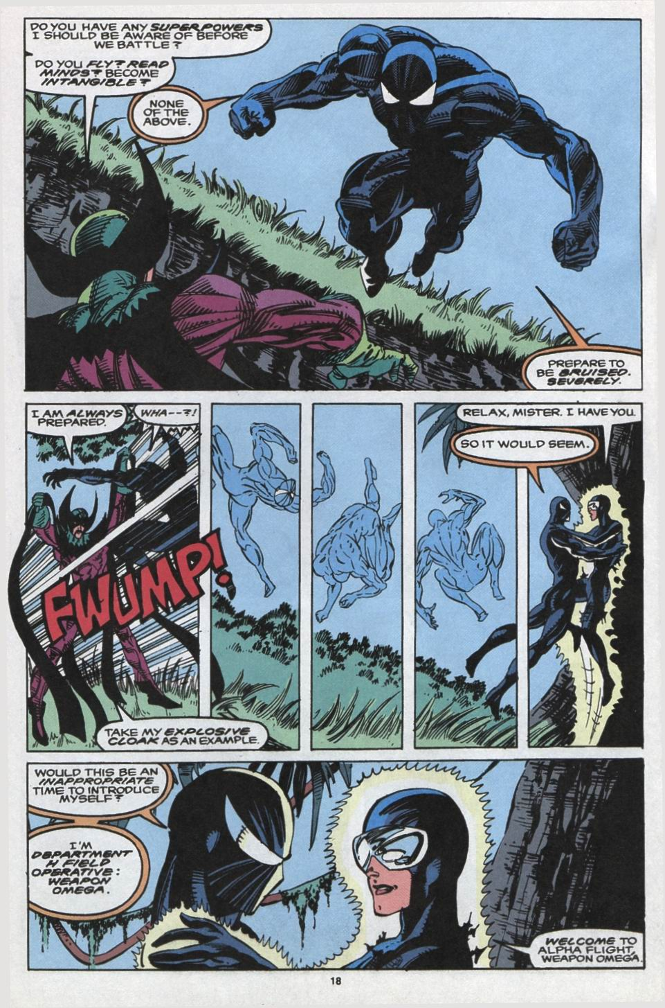 Read online Alpha Flight (1983) comic -  Issue #102 - 15