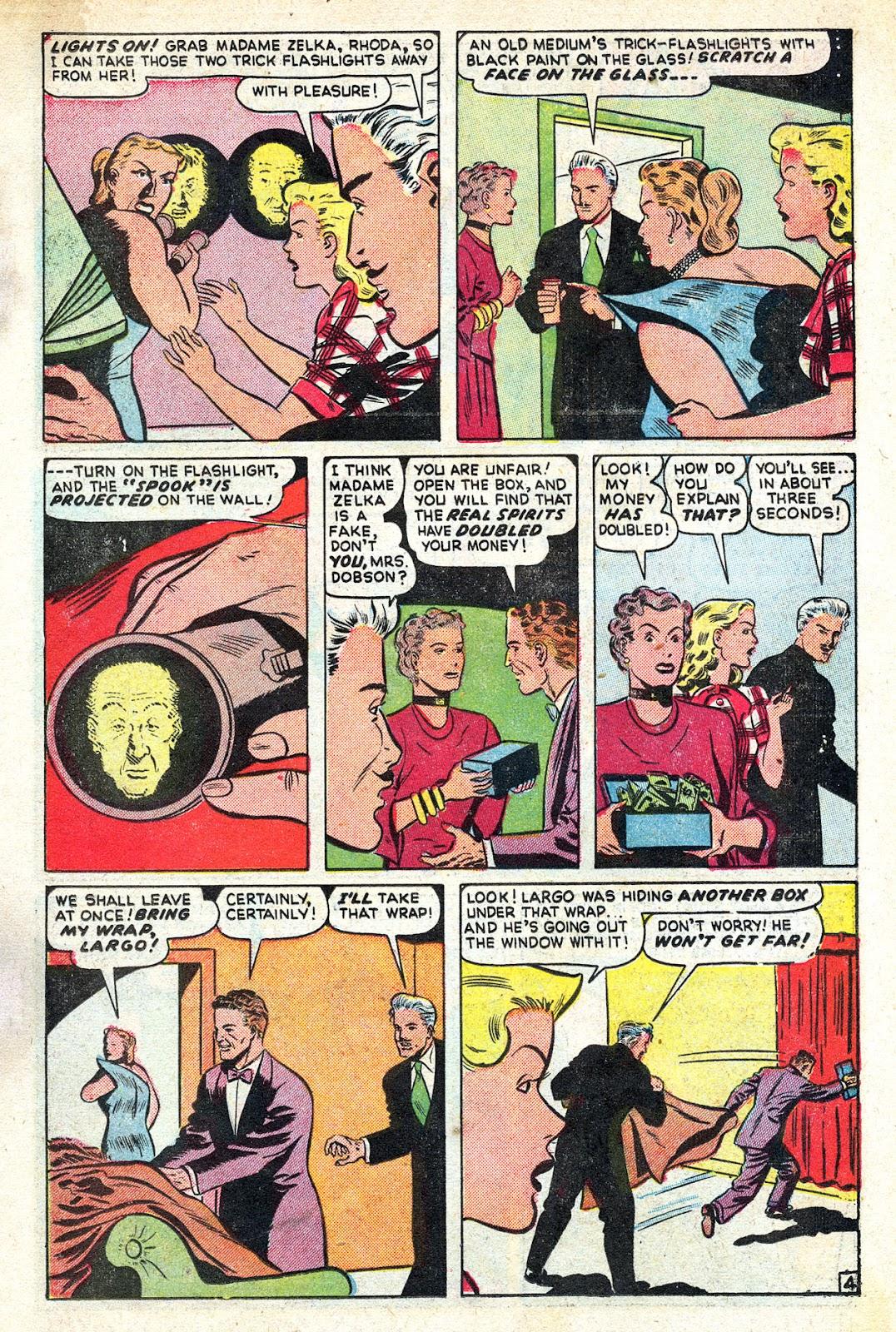 Read online Blackstone the Magician comic -  Issue #4 - 15