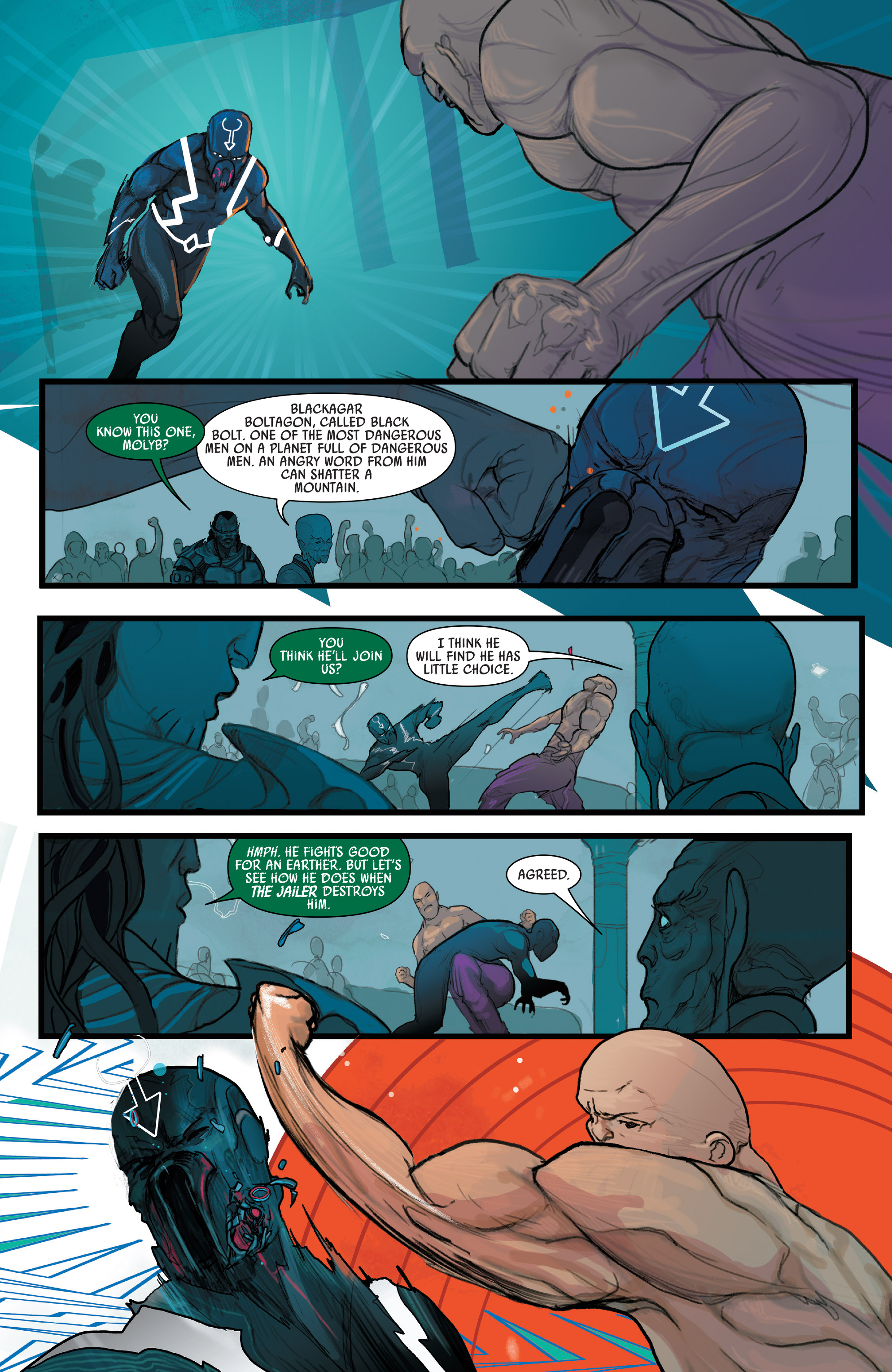 Read online Black Bolt comic -  Issue #1 - 16