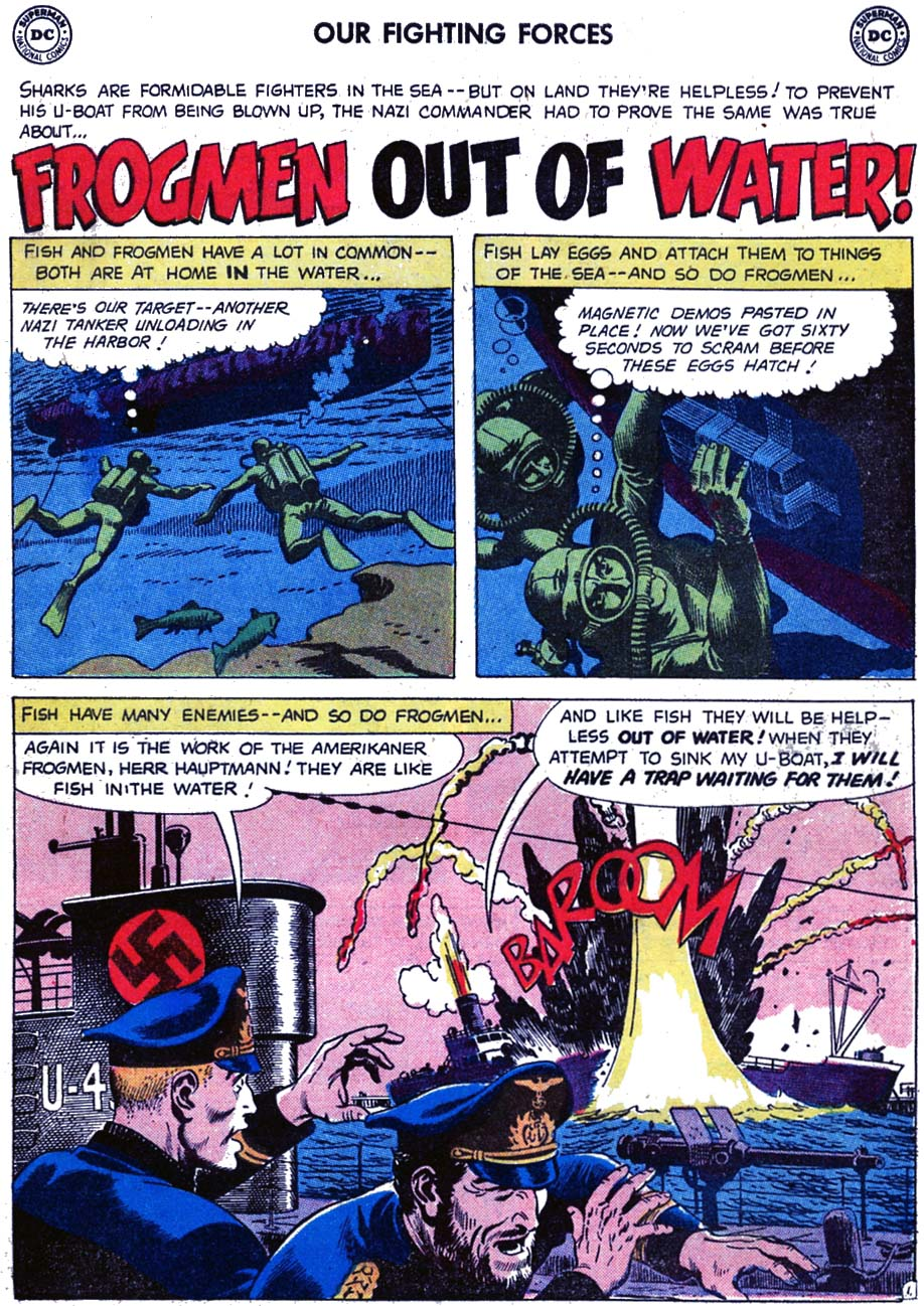 Our Fighting Forces (1954) issue 46 - Page 19