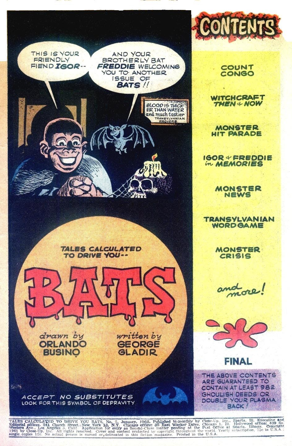Read online Tales Calculated to Drive You Bats comic -  Issue #2 - 3