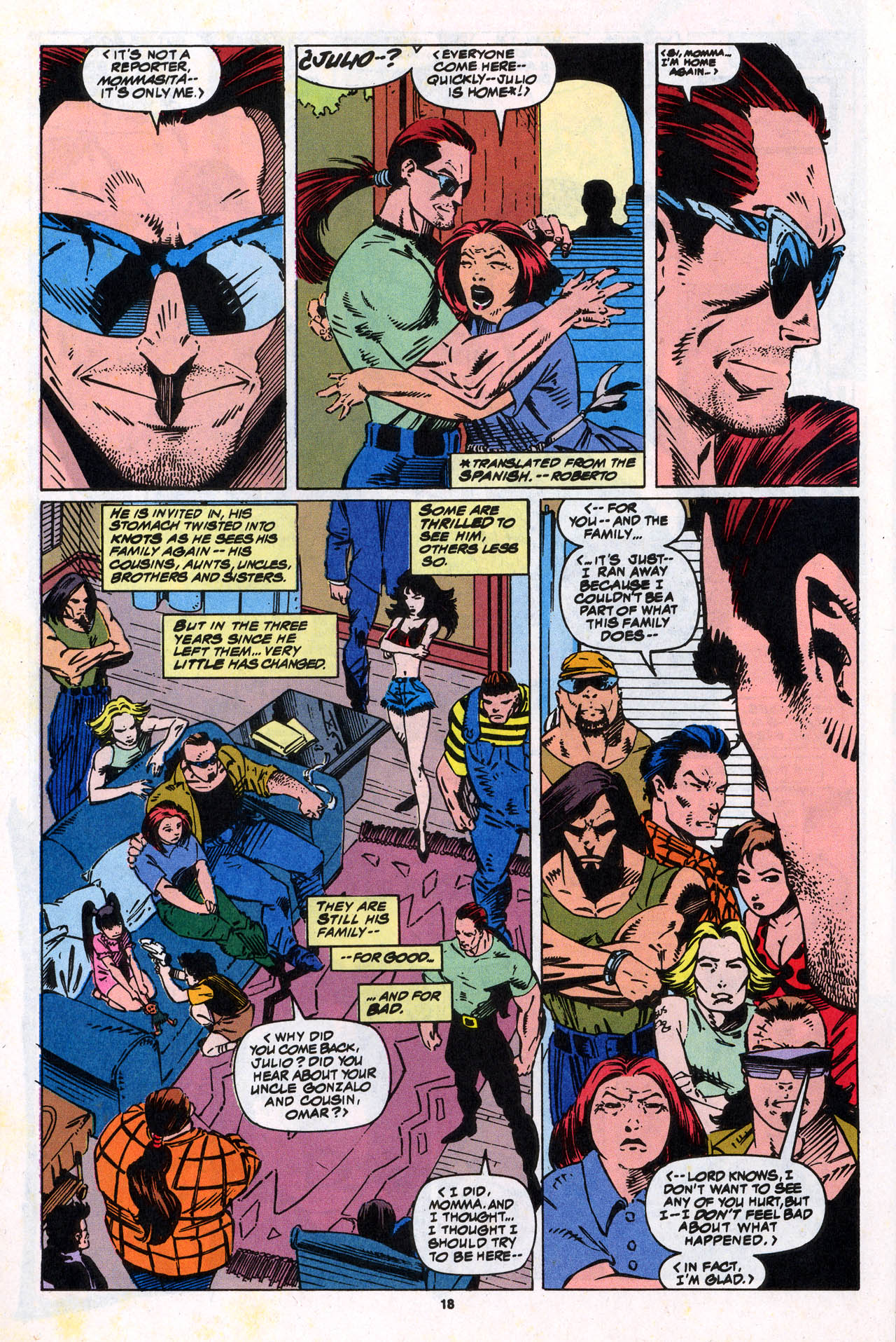 Read online X-Force (1991) comic -  Issue #34 - 19