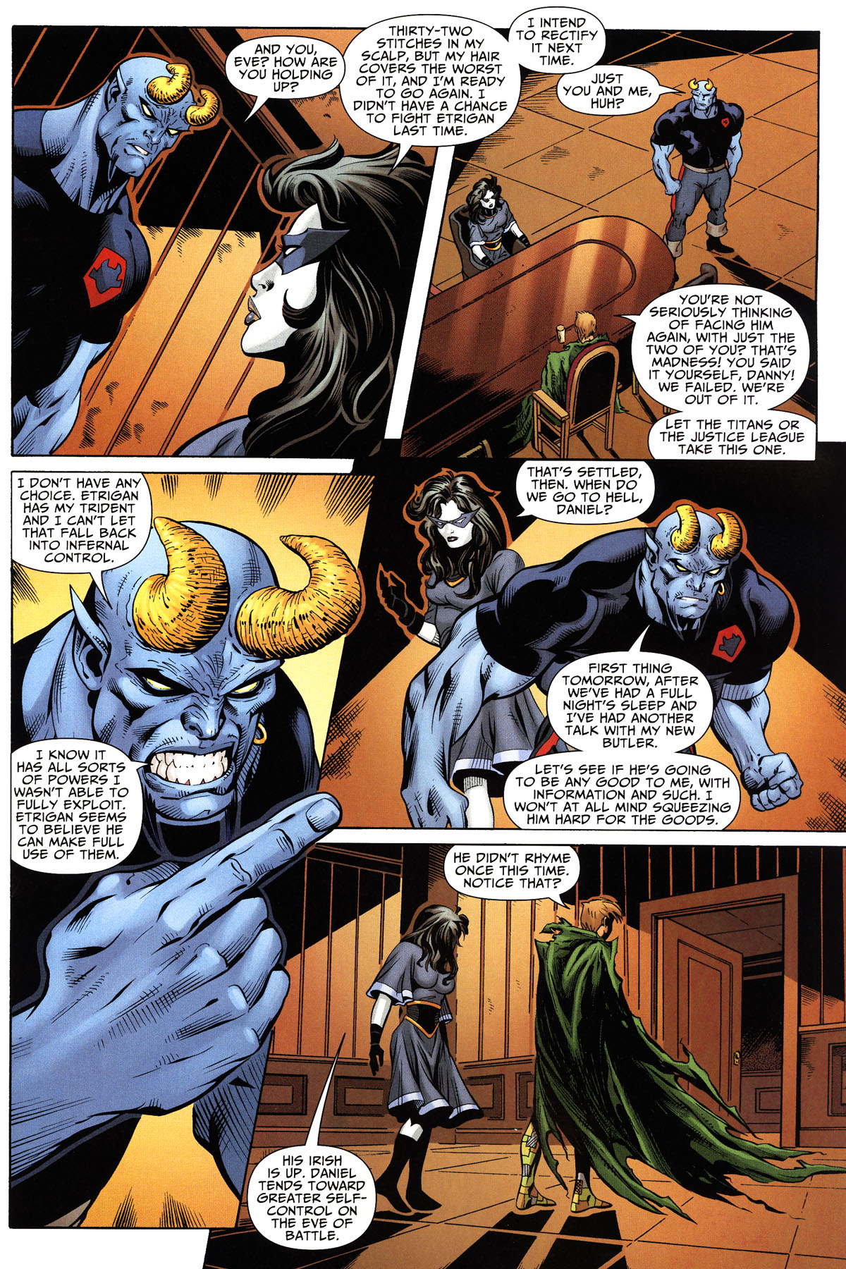 Read online Shadowpact comic -  Issue #10 - 17