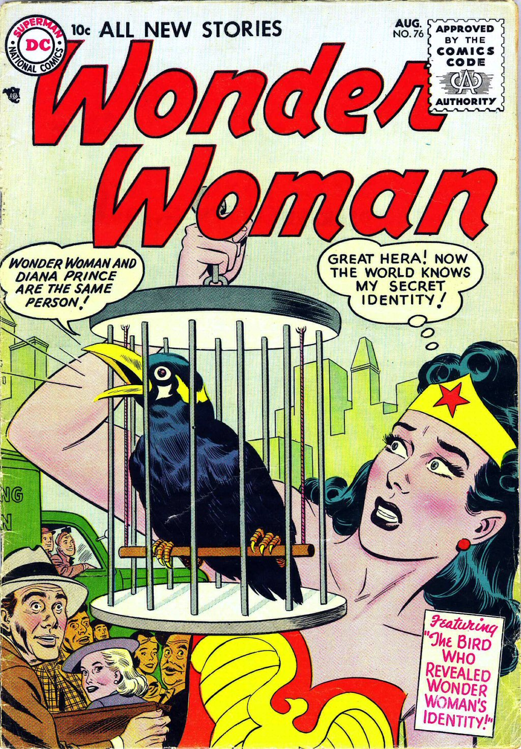 Read online Wonder Woman (1942) comic -  Issue #76 - 1