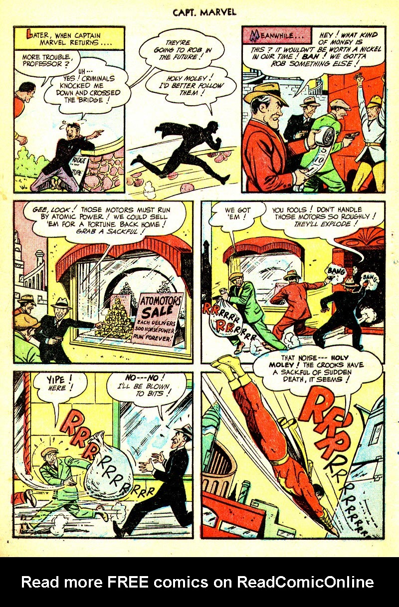Captain Marvel Adventures issue 93 - Page 39