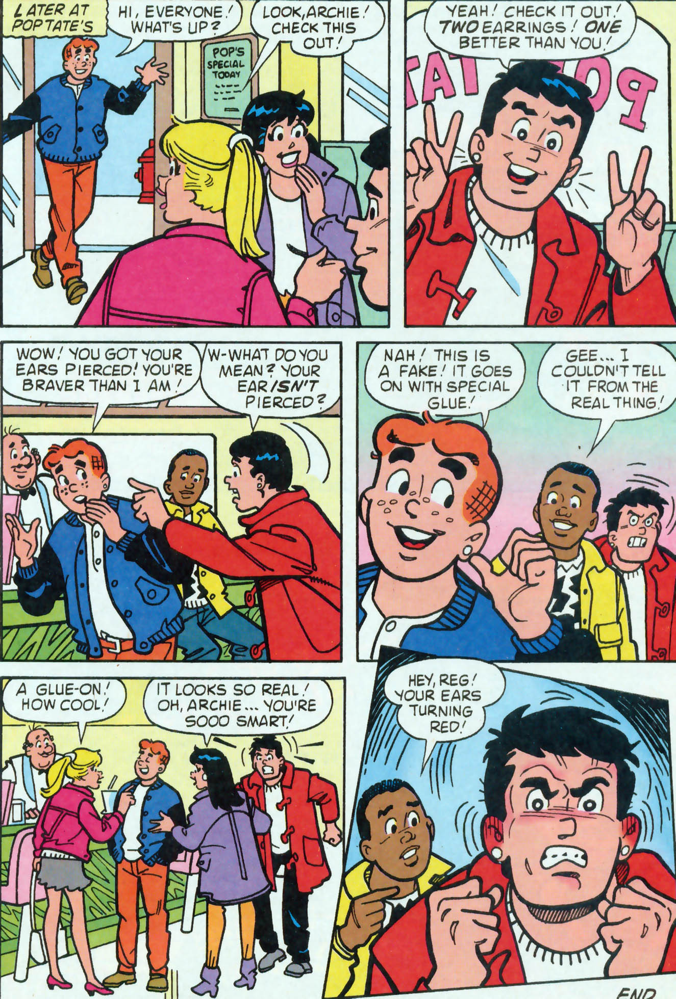 Read online Archie (1960) comic -  Issue #455 - 23