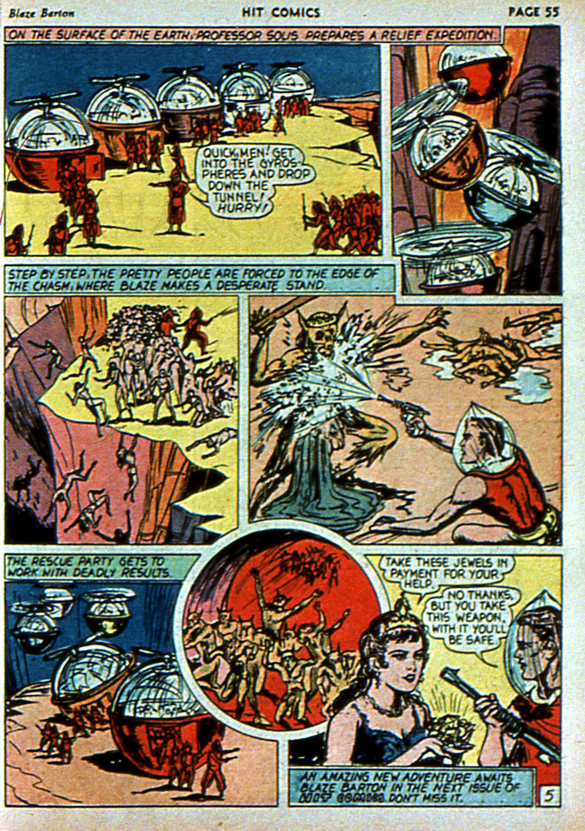 Read online Hit Comics comic -  Issue #3 - 57