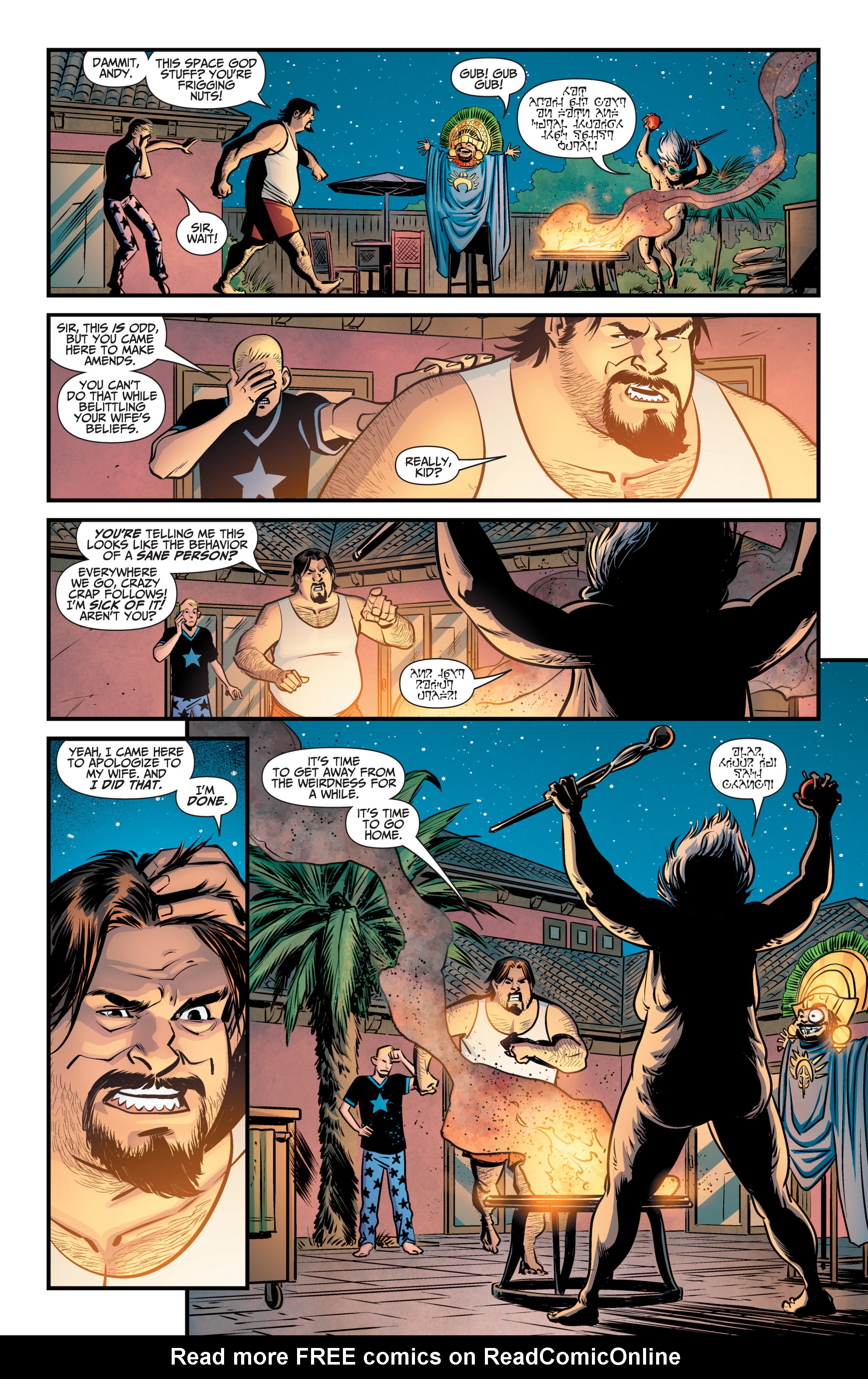 Read online A&A: The Adventures of Archer & Armstrong comic -  Issue #9 - 21