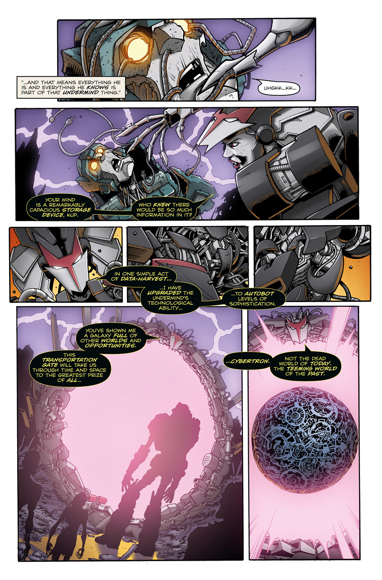 Read online Transformers: Infestation comic -  Issue #2 - 18