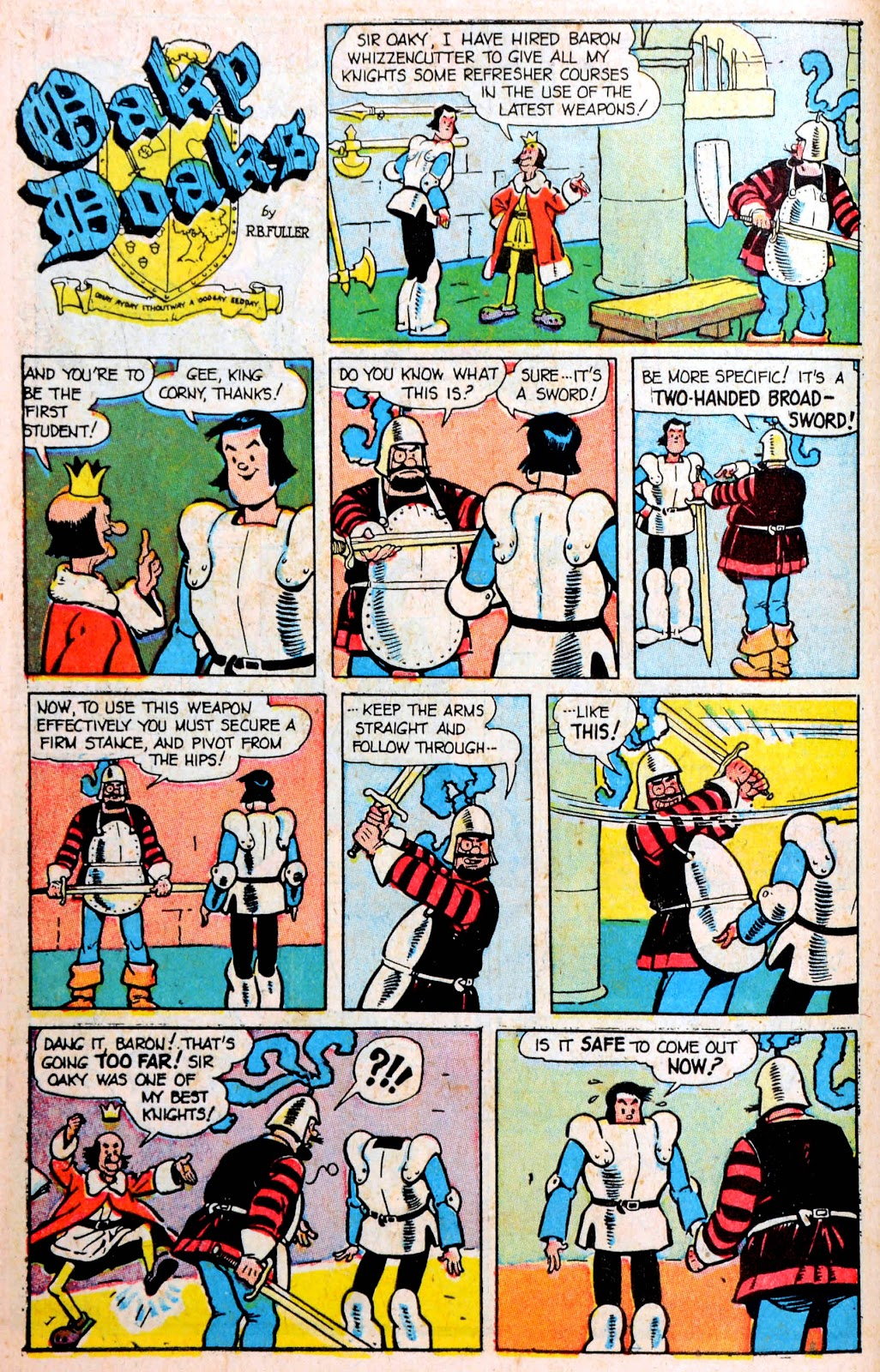 Read online Famous Funnies comic -  Issue #194 - 10