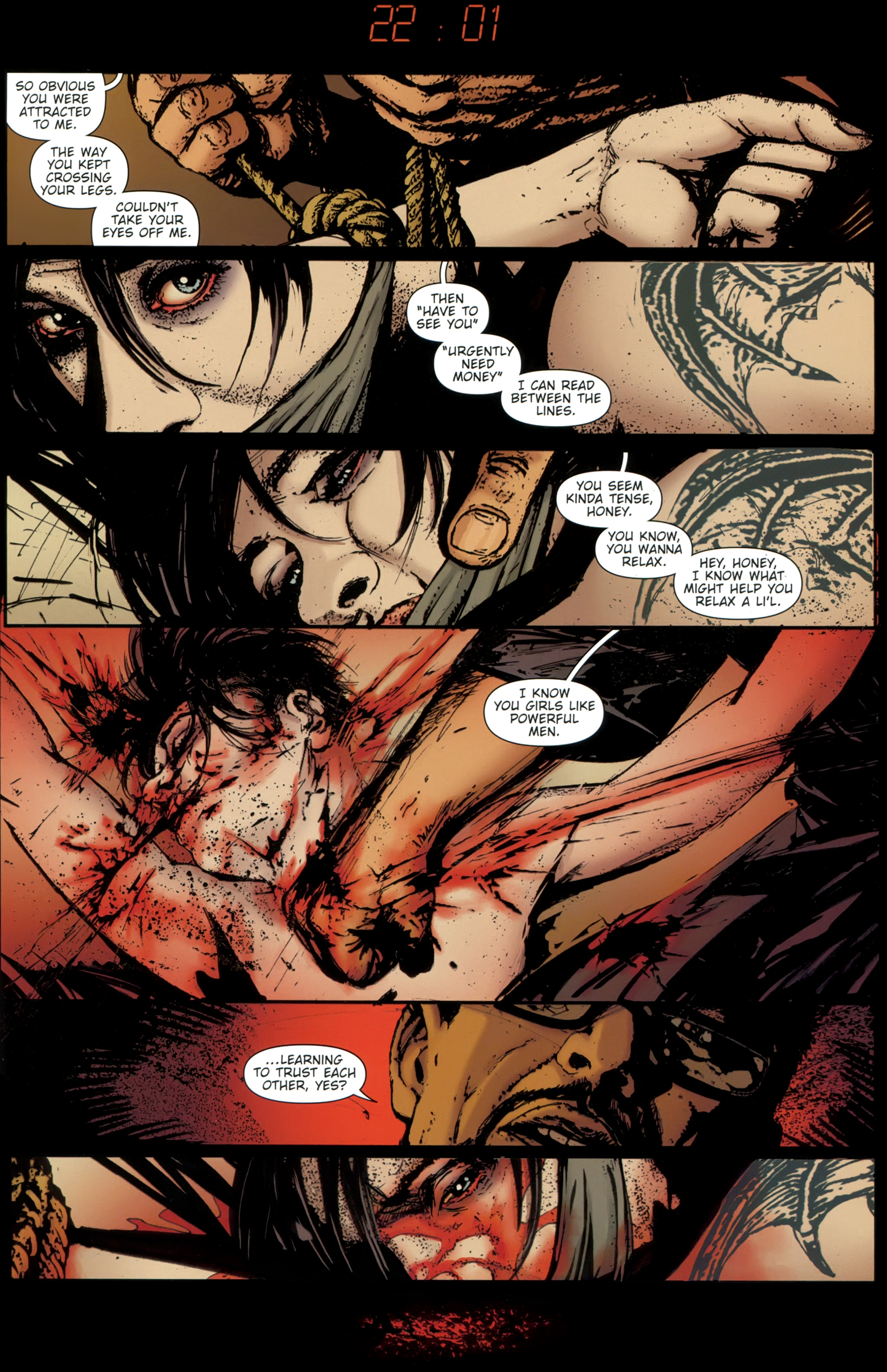 Read online The Girl With the Dragon Tattoo comic -  Issue # TPB 1 - 120