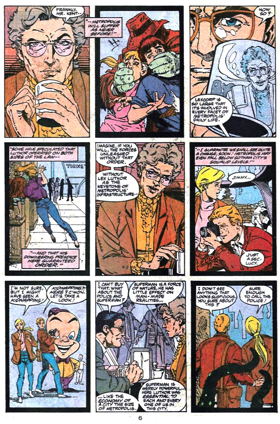 Adventures of Superman (1987) 475 Page 6