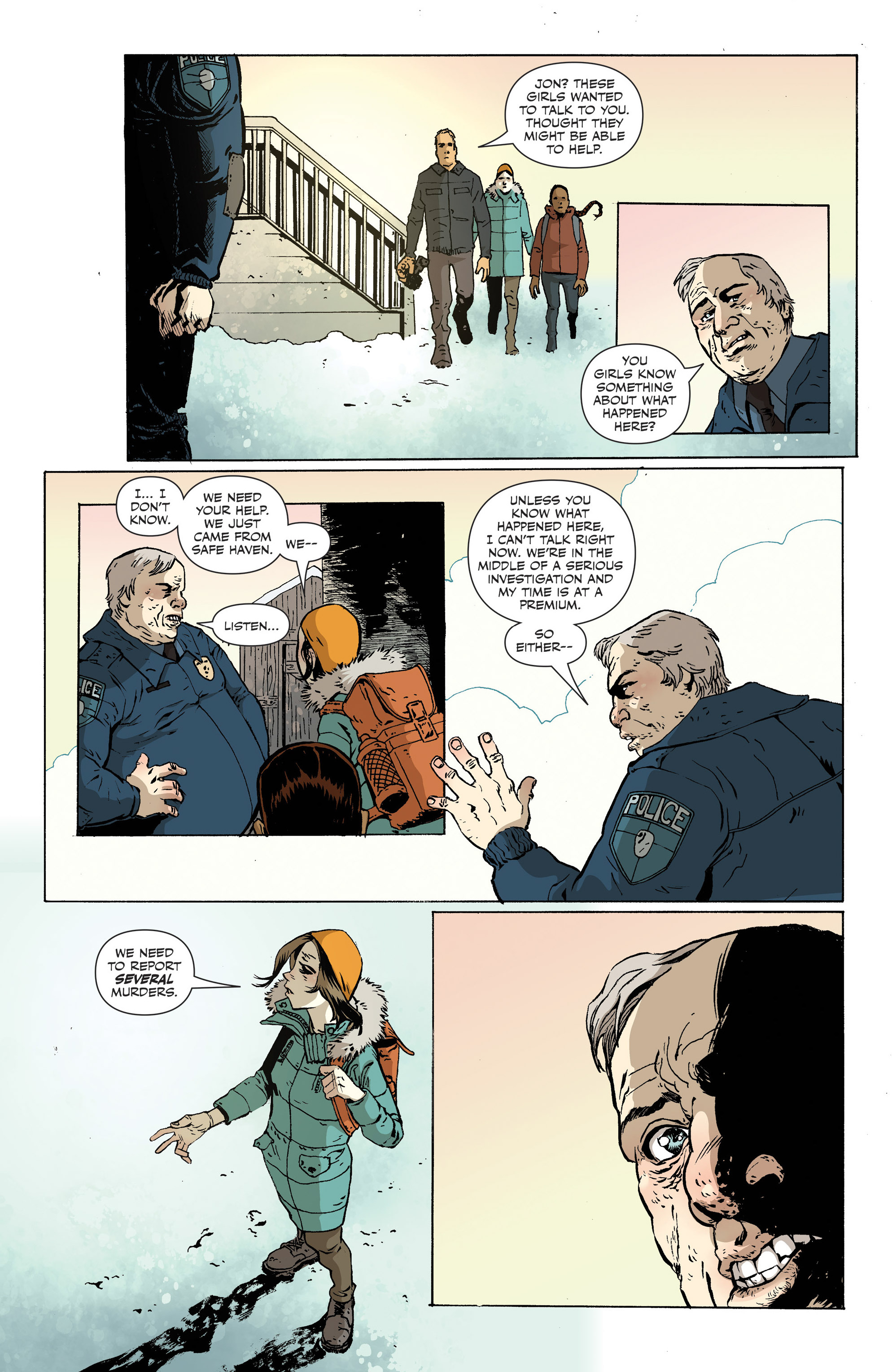 Read online Sheltered comic -  Issue #12 - 11