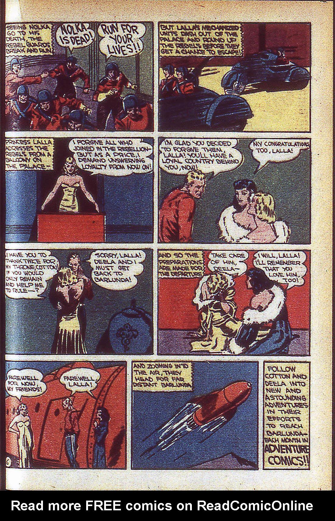 Read online Adventure Comics (1938) comic -  Issue #59 - 38