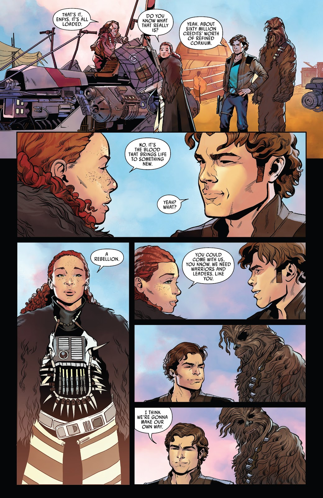 Read online Solo: A Star Wars Story Adaptation comic -  Issue #7 - 14