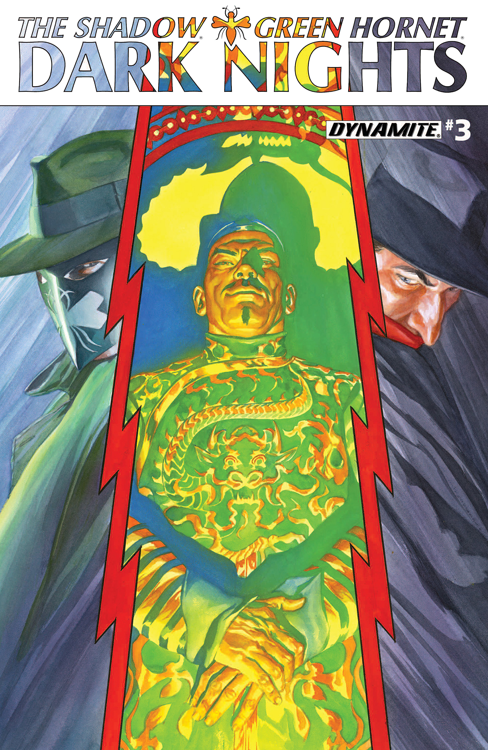 The Shadow/Green Hornet: Dark Nights 3 Page 1