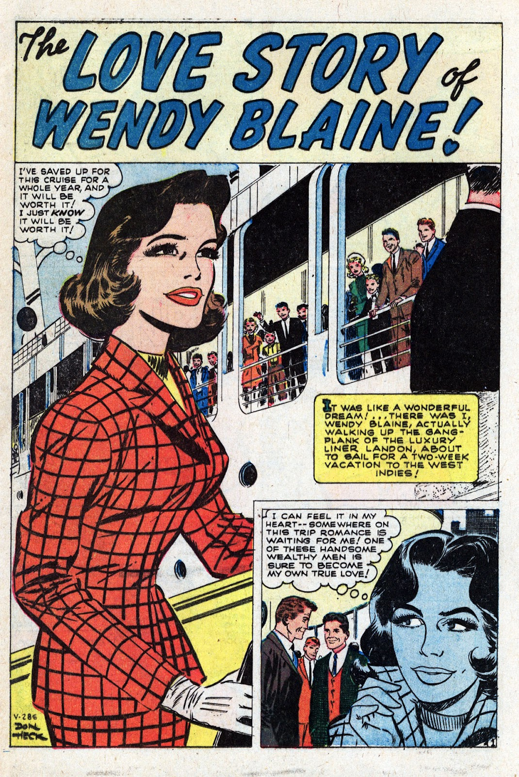 Love Romances (1949) issue 95 - Page 12