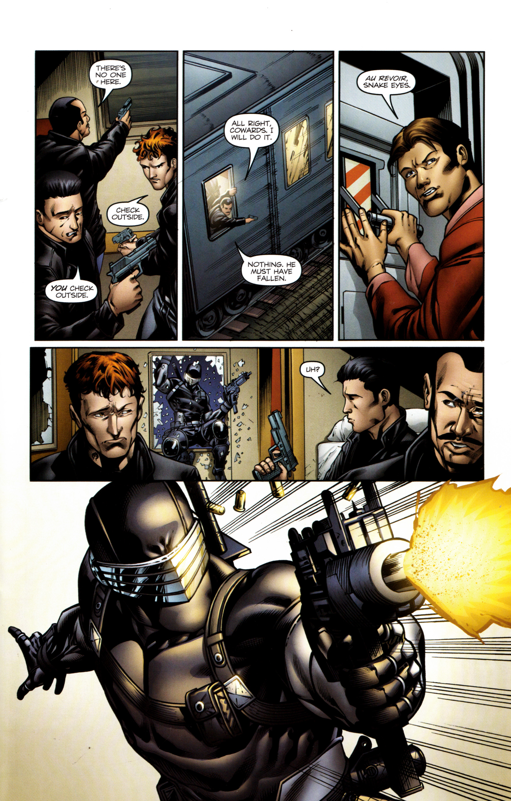 Read online Snake Eyes and Storm Shadow comic -  Issue #13 - 22