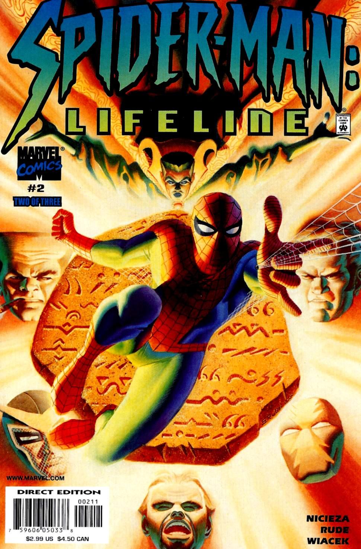 Read online Spider-Man: Lifeline comic -  Issue #2 - 1