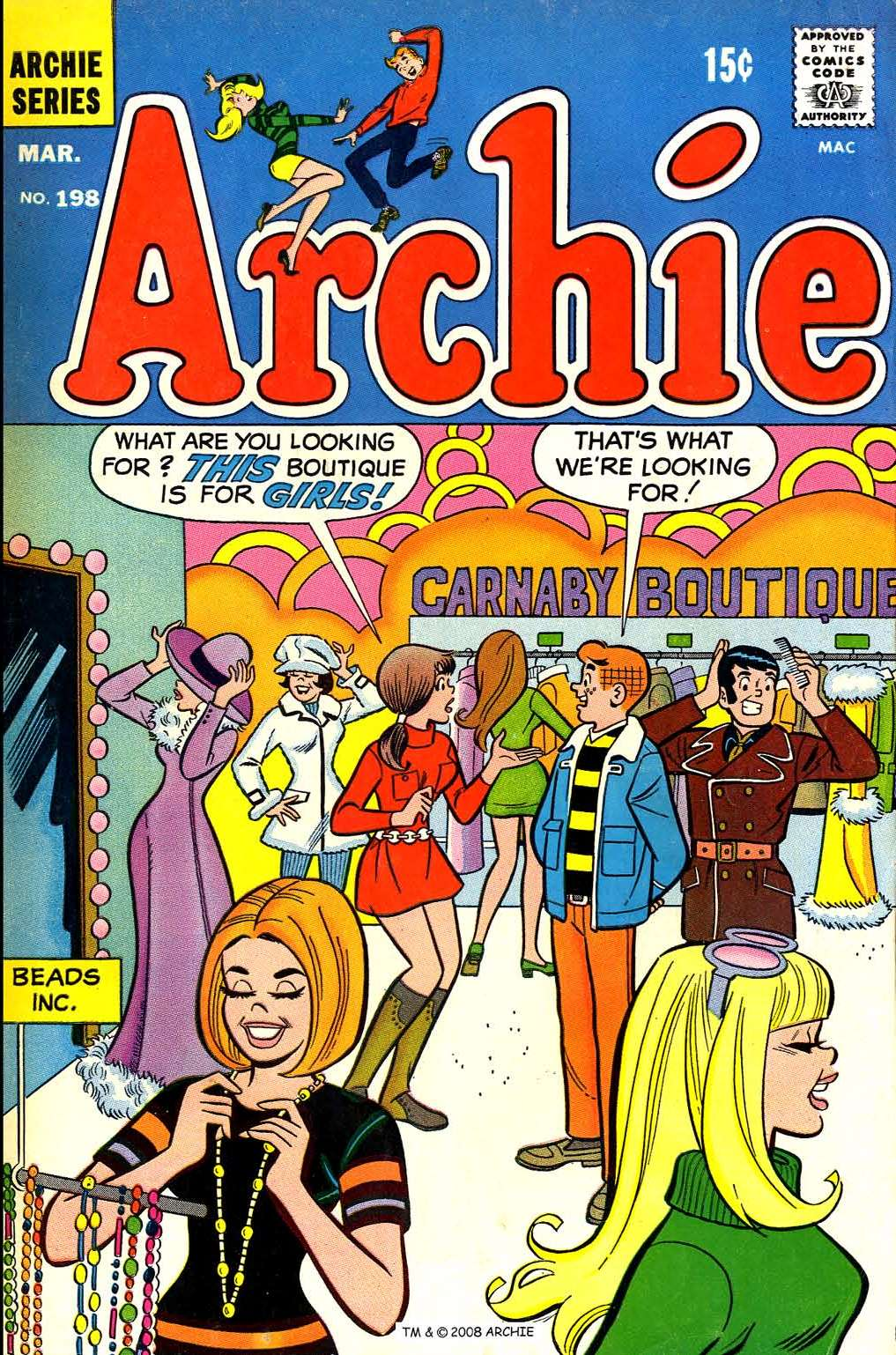 Read online Archie (1960) comic -  Issue #198 - 1