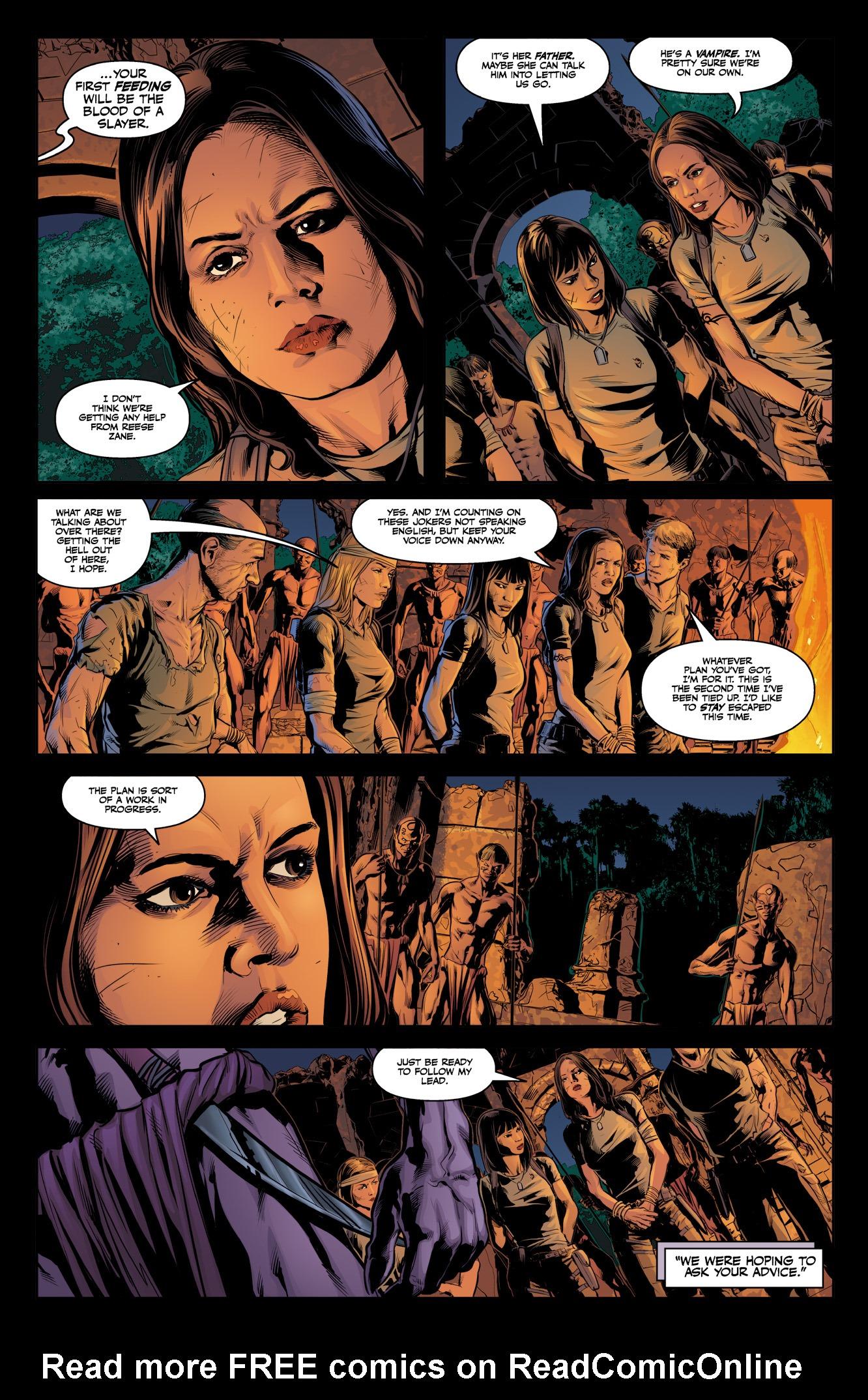Read online Angel & Faith Season 10 comic -  Issue #10 - 10