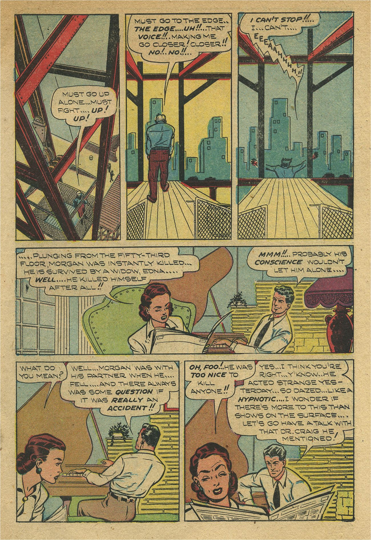 Read online Shadow Comics comic -  Issue #93 - 8
