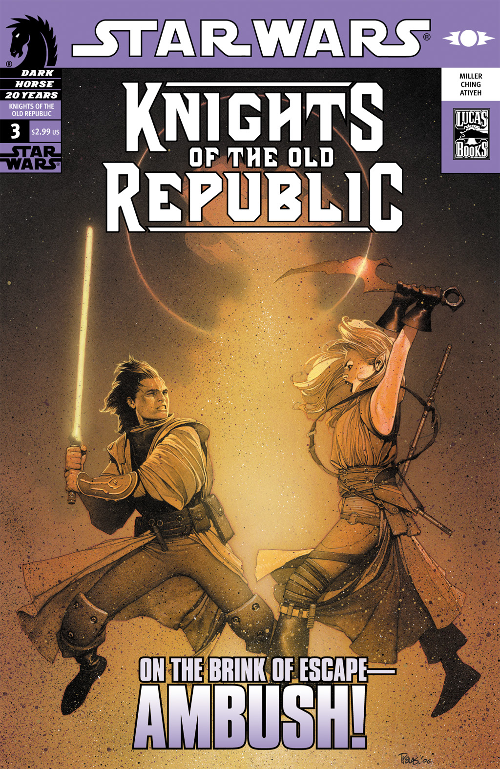 Star Wars: Knights Of The Old Republic issue 3 - Page 1