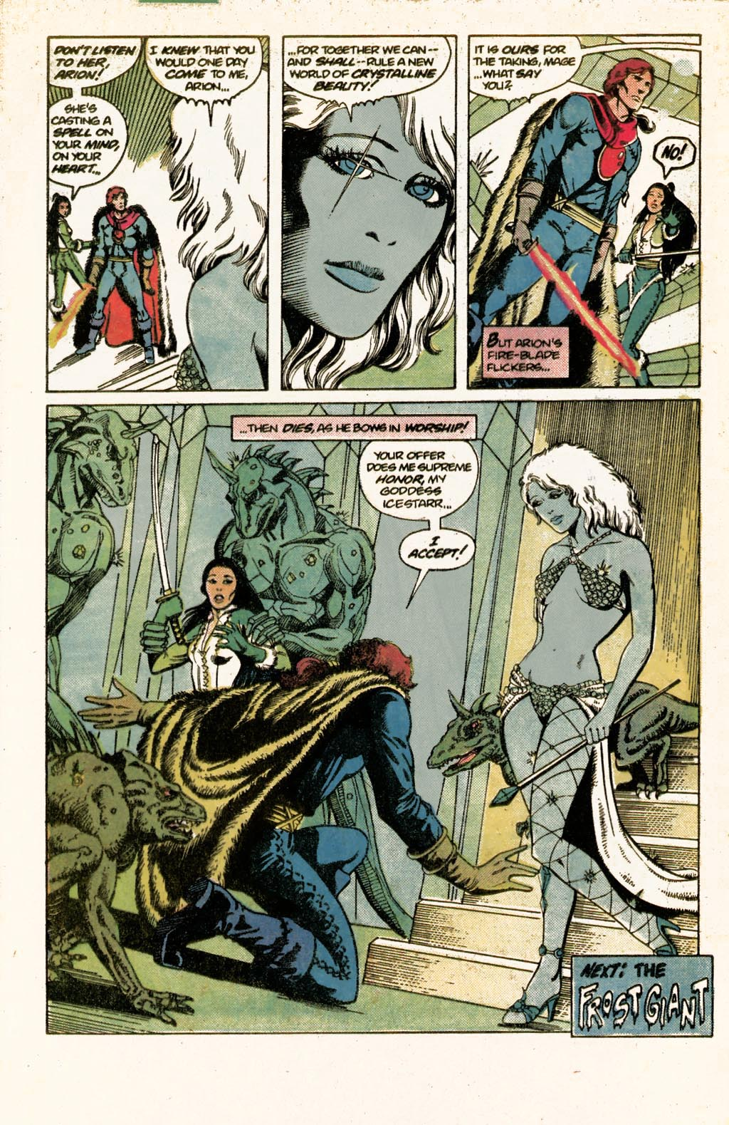 Read online Arion, Lord of Atlantis comic -  Issue #9 - 31