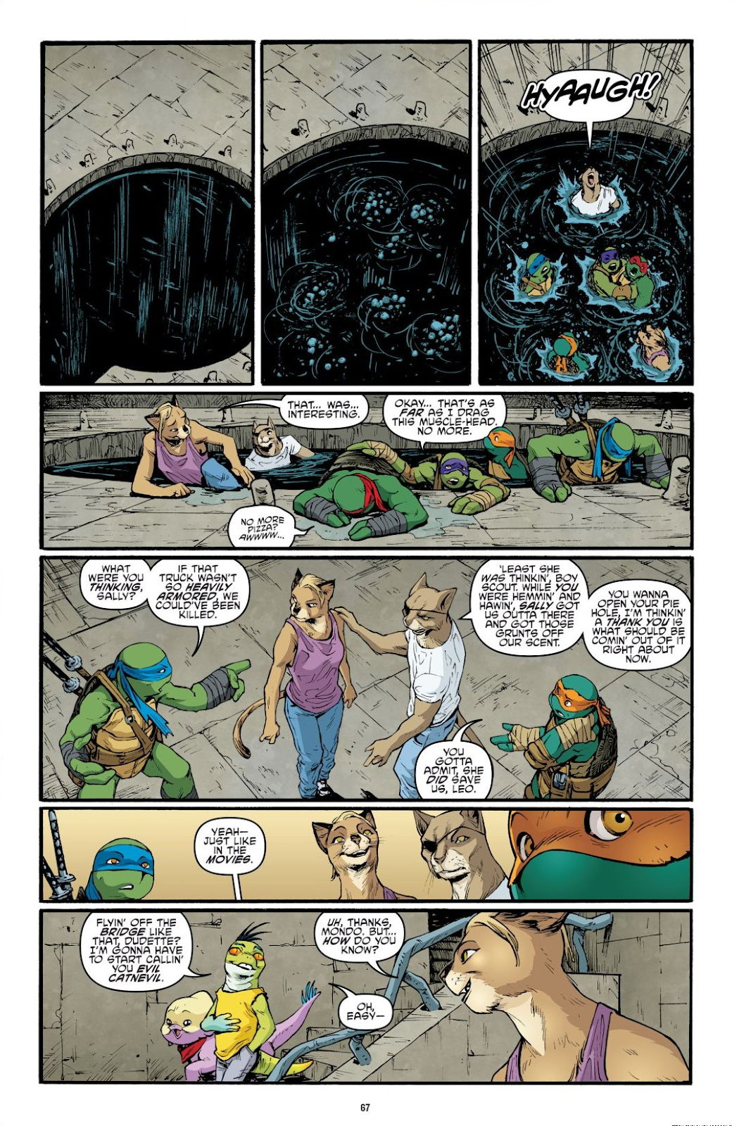 Read online Teenage Mutant Ninja Turtles: The IDW Collection comic -  Issue # TPB 9 (Part 1) - 68
