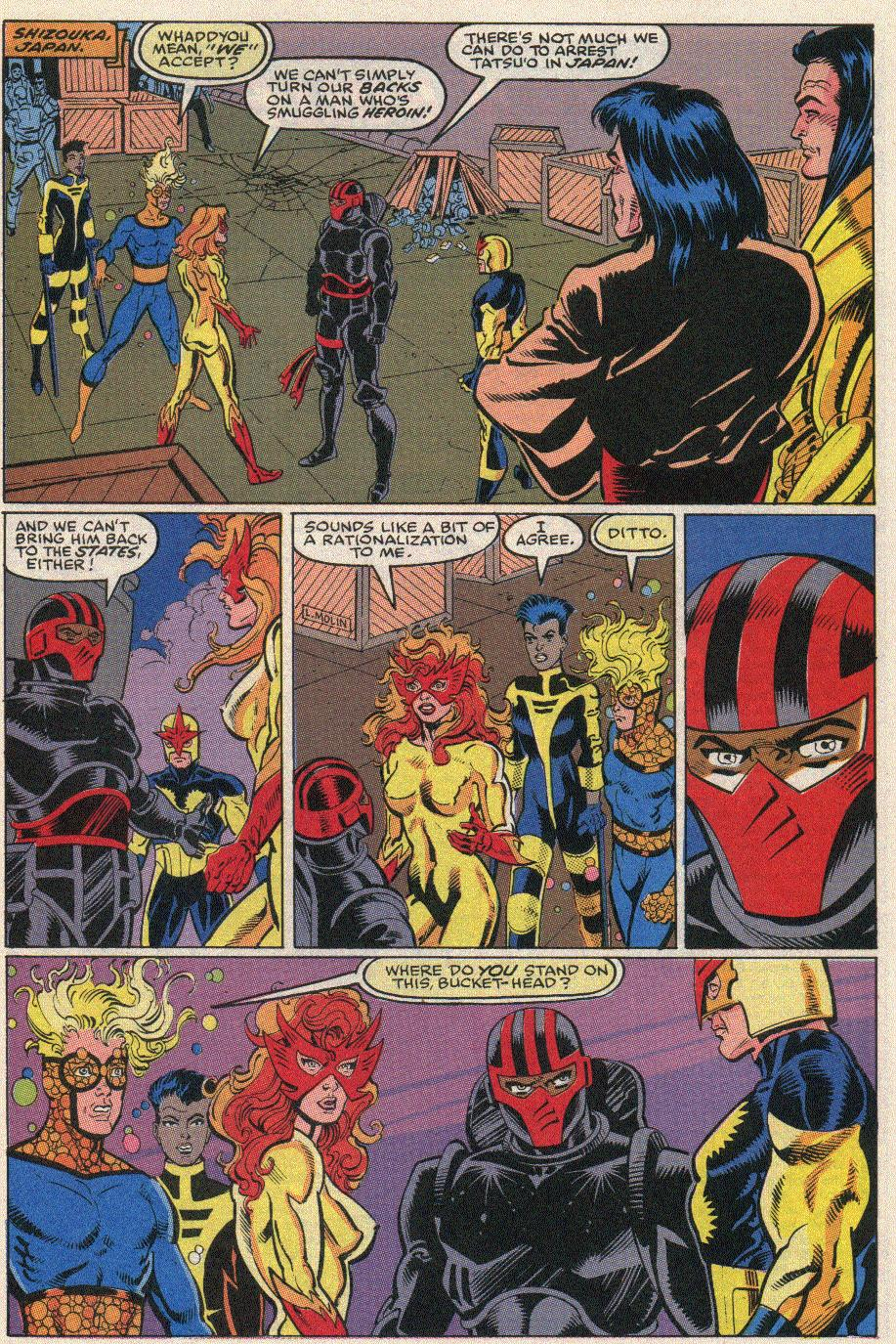 The New Warriors Issue #20 #24 - English 20