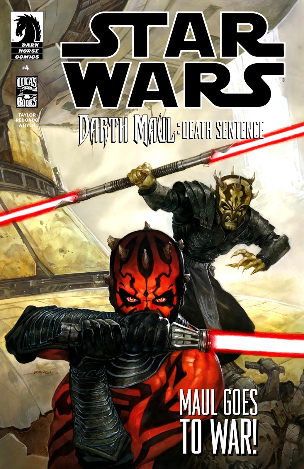 Star Wars: Darth Maul - Death Sentence 4 Page 1
