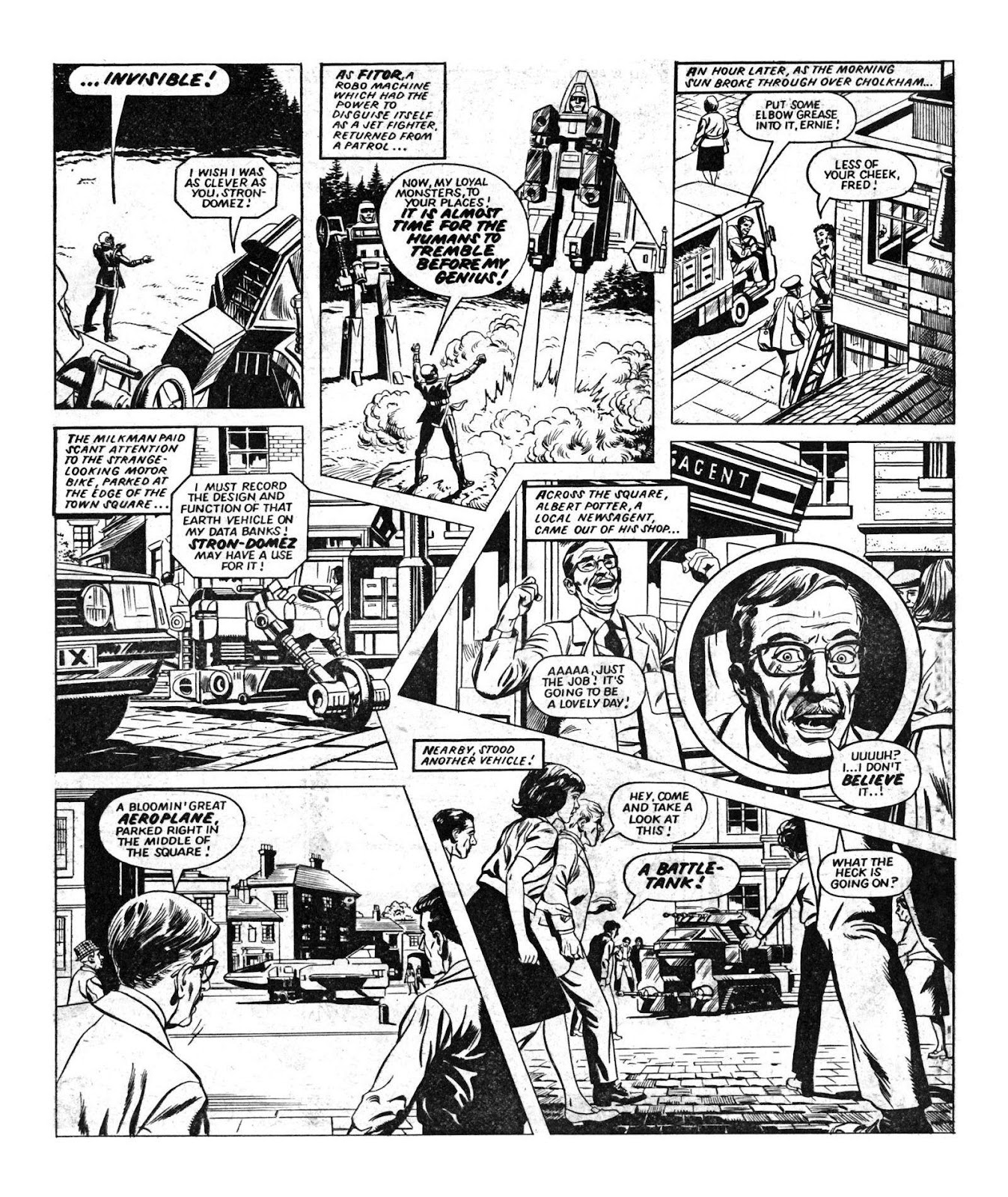 Read online Robo Machines comic -  Issue # TPB - 16