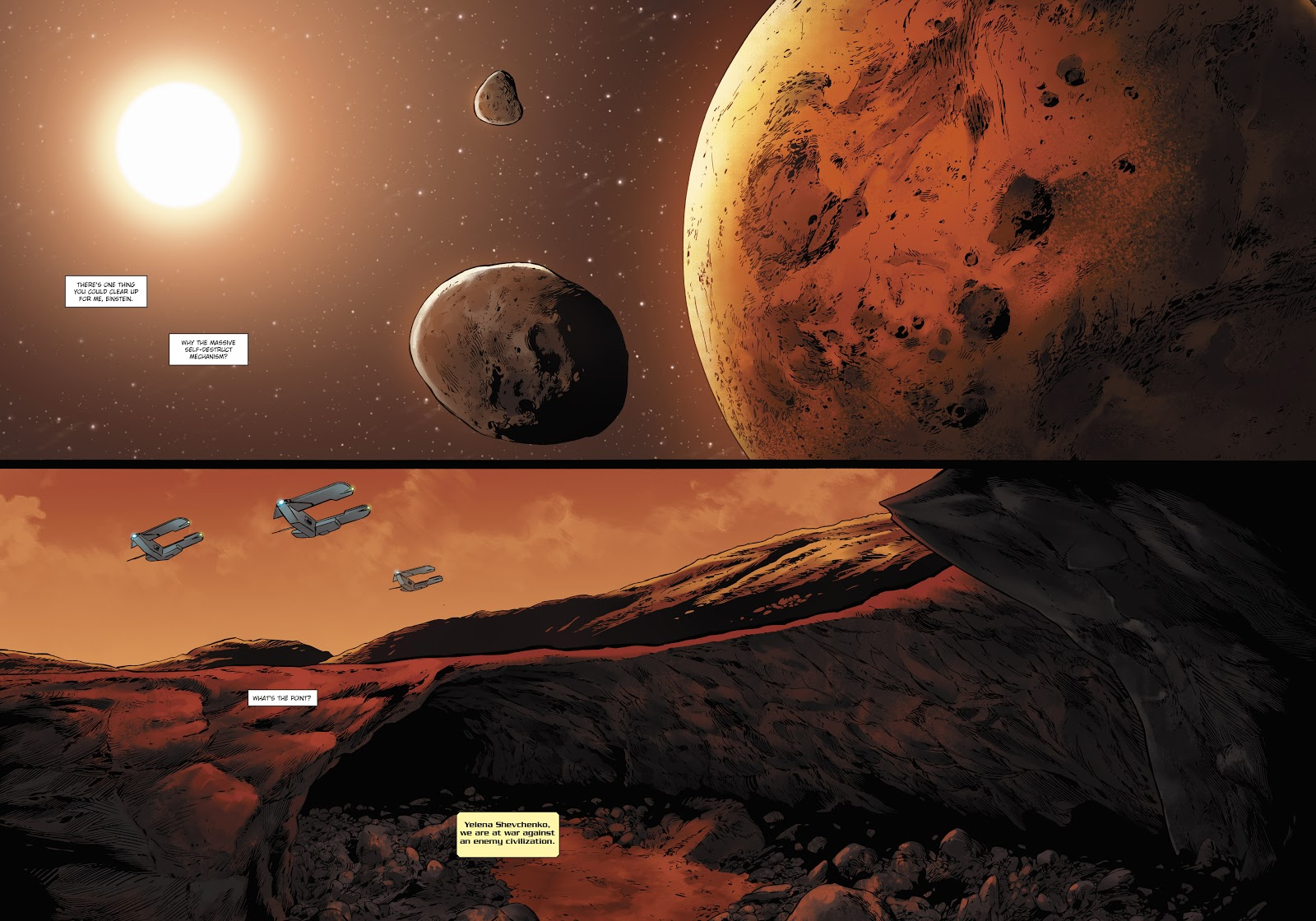 Read online Olympus Mons Vol. 1: Anomaly One comic -  Issue #5 - 25