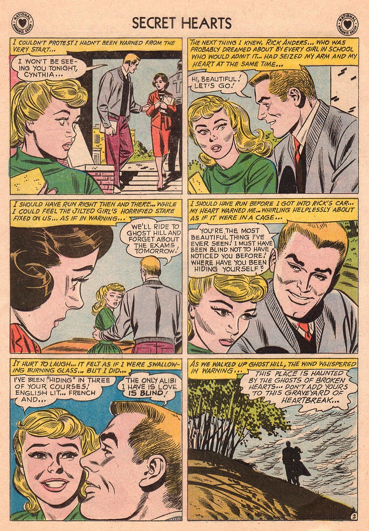 Read online Secret Hearts comic -  Issue #74 - 28