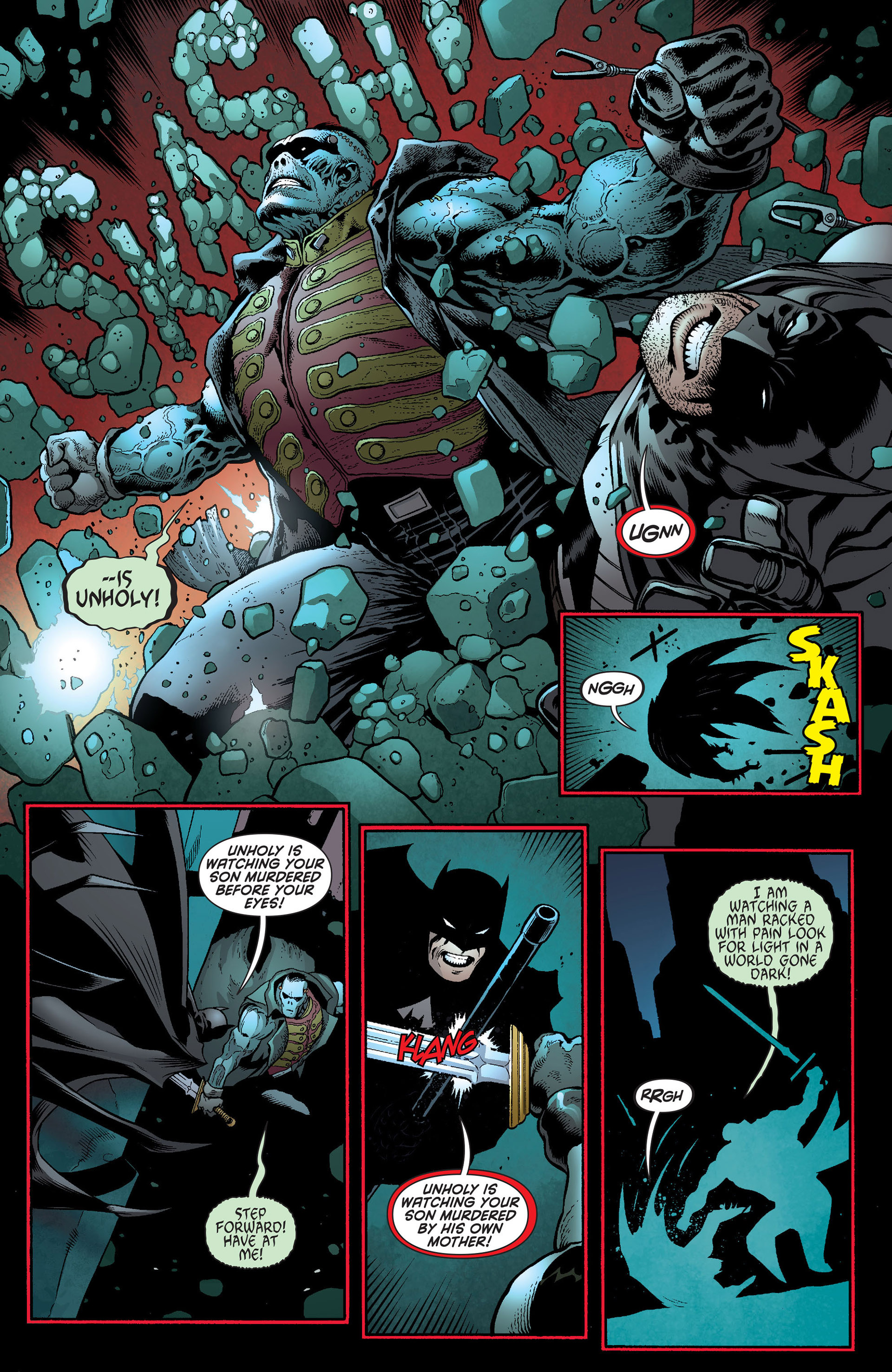 Read online Batman and Robin (2011) comic -  Issue #19 - 13