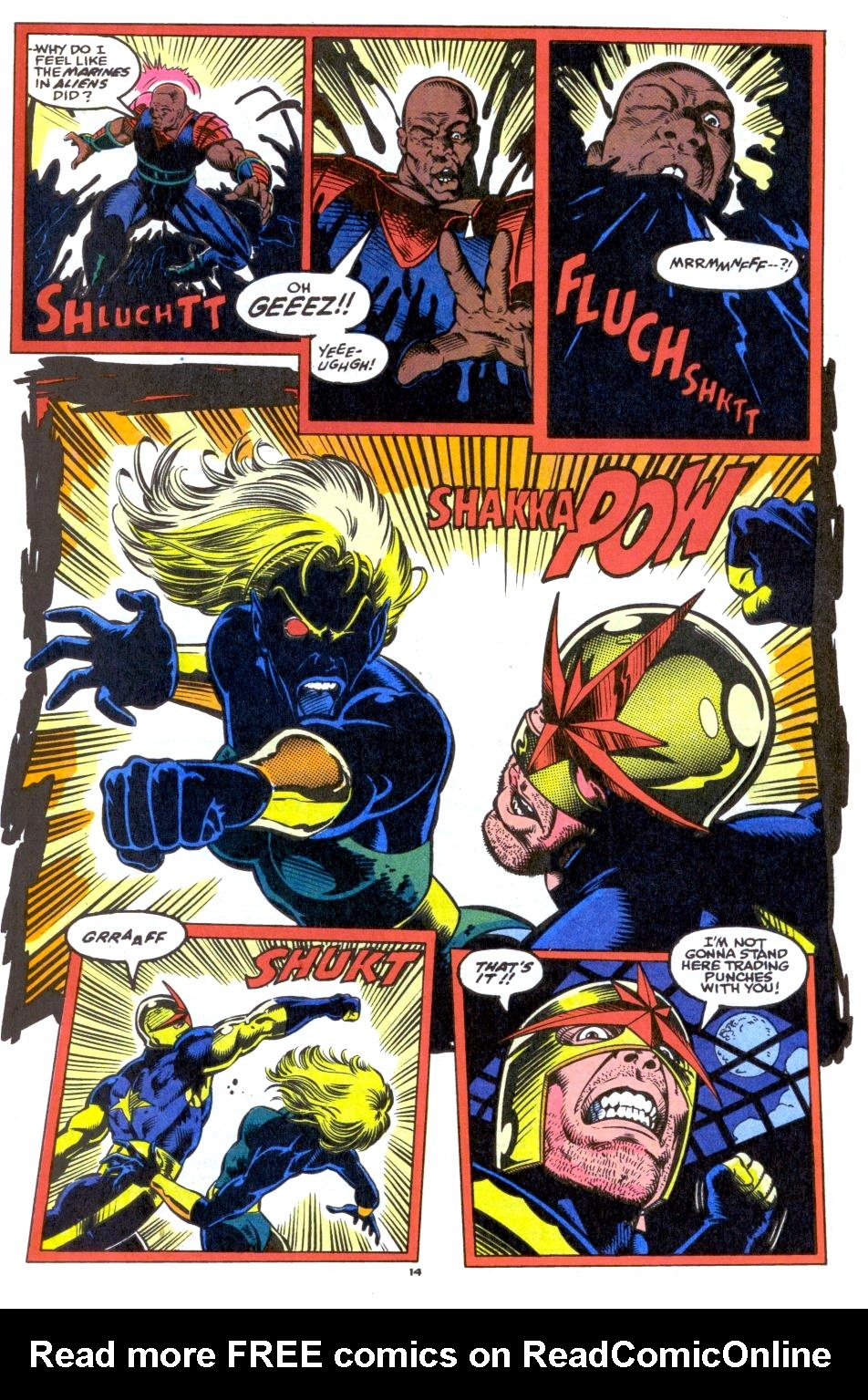 The New Warriors Issue #33 #37 - English 11