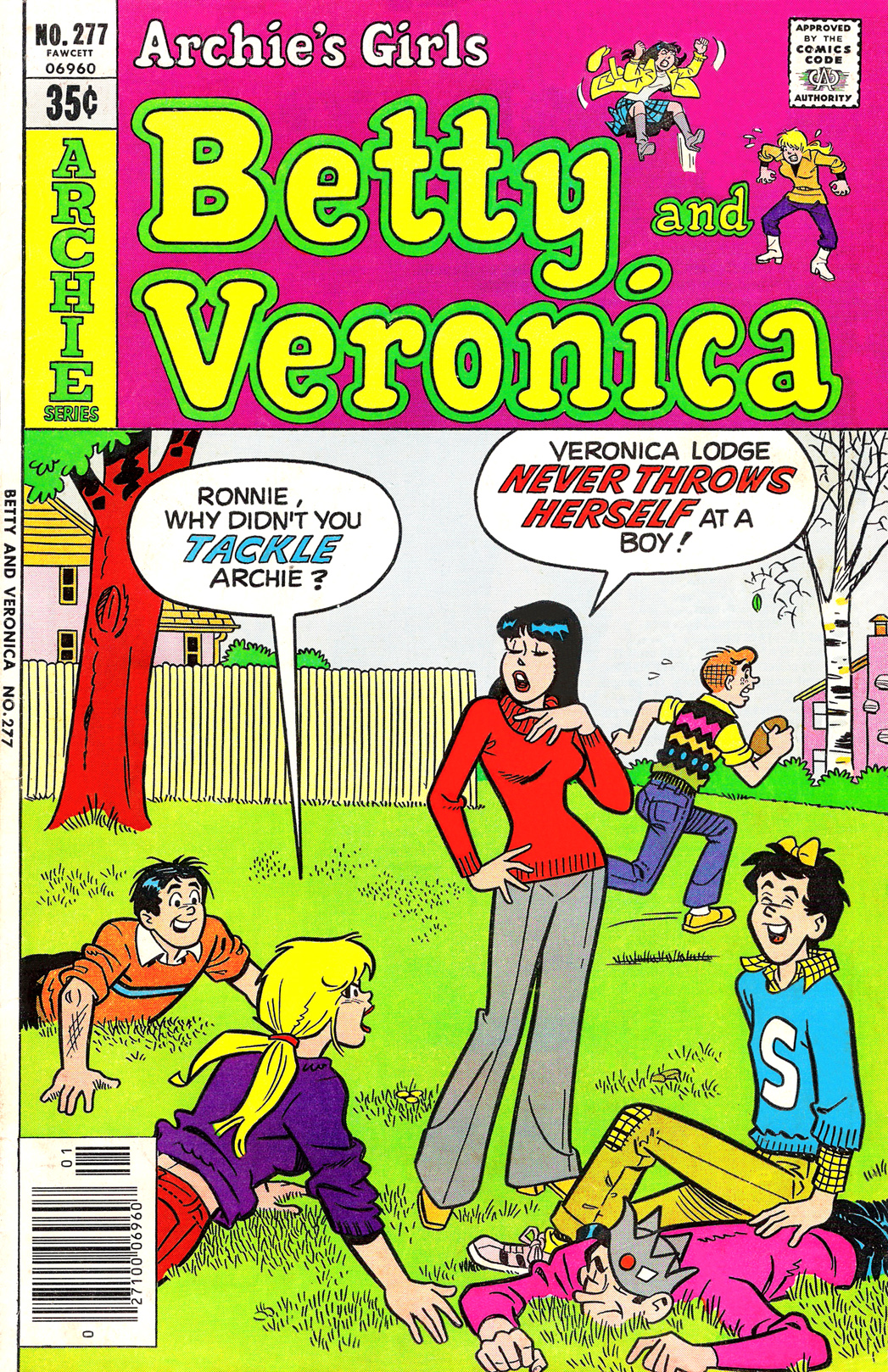 Read online Archie's Girls Betty and Veronica comic -  Issue #277 - 1