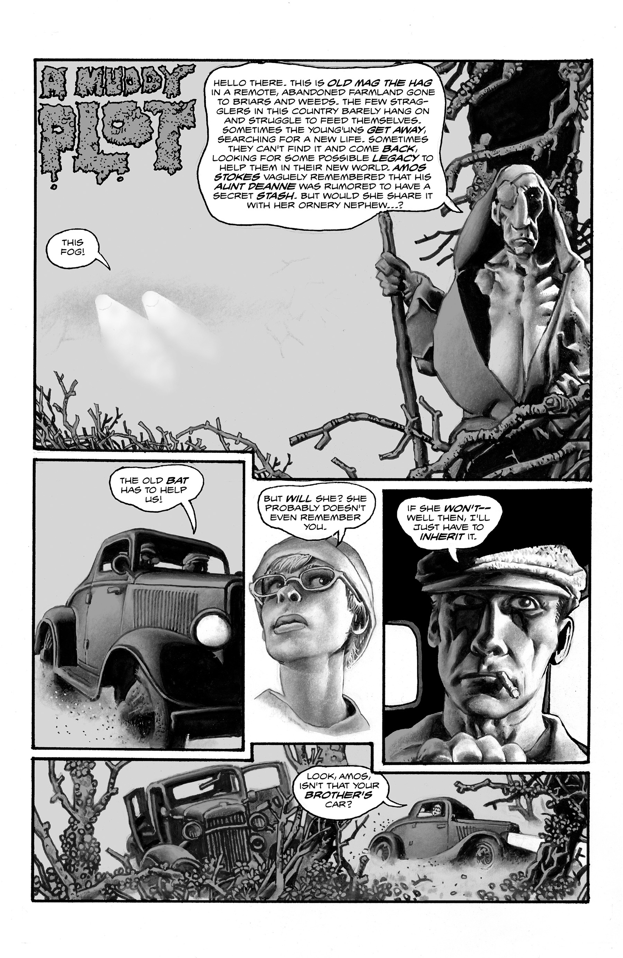 Read online Shadows on the Grave comic -  Issue #2 - 3