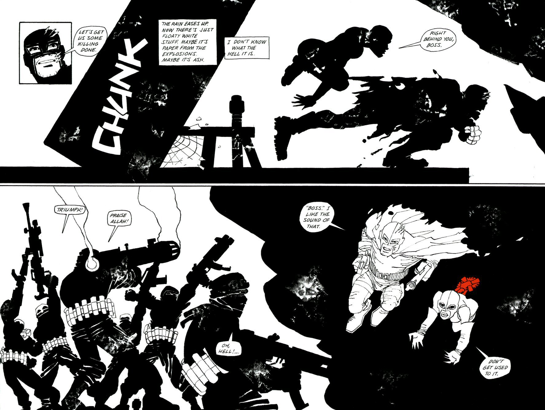 Read online Frank Miller's Holy Terror comic -  Issue # TPB - 78