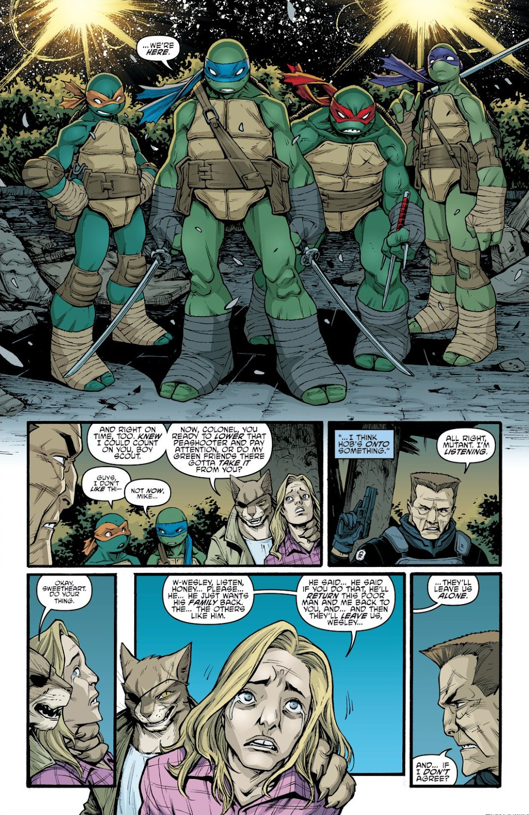 Read online Teenage Mutant Ninja Turtles: The IDW Collection comic -  Issue # TPB 9 (Part 1) - 81