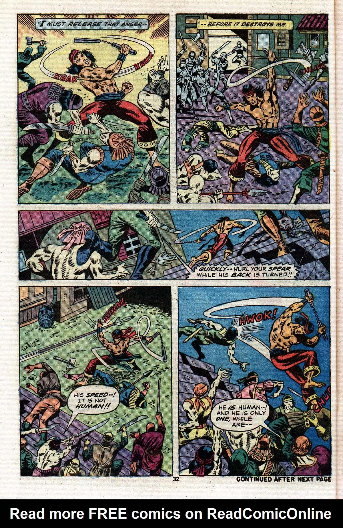 Read online Giant-Size Master of Kung Fu comic -  Issue #2 - 27