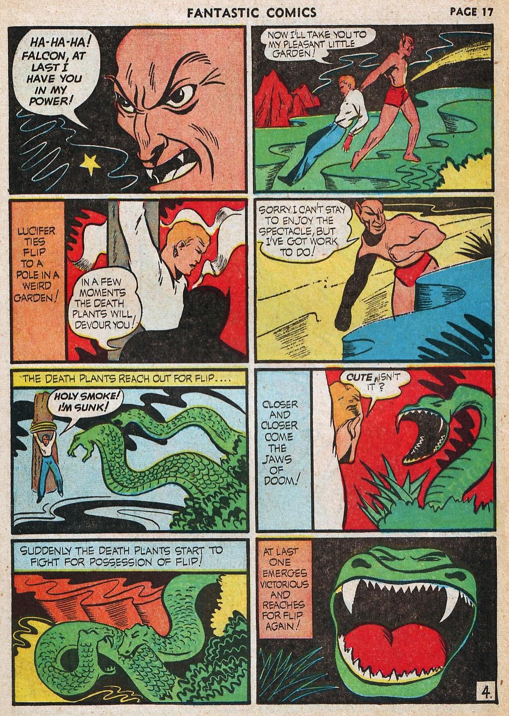 Read online Fantastic Comics comic -  Issue #20 - 18