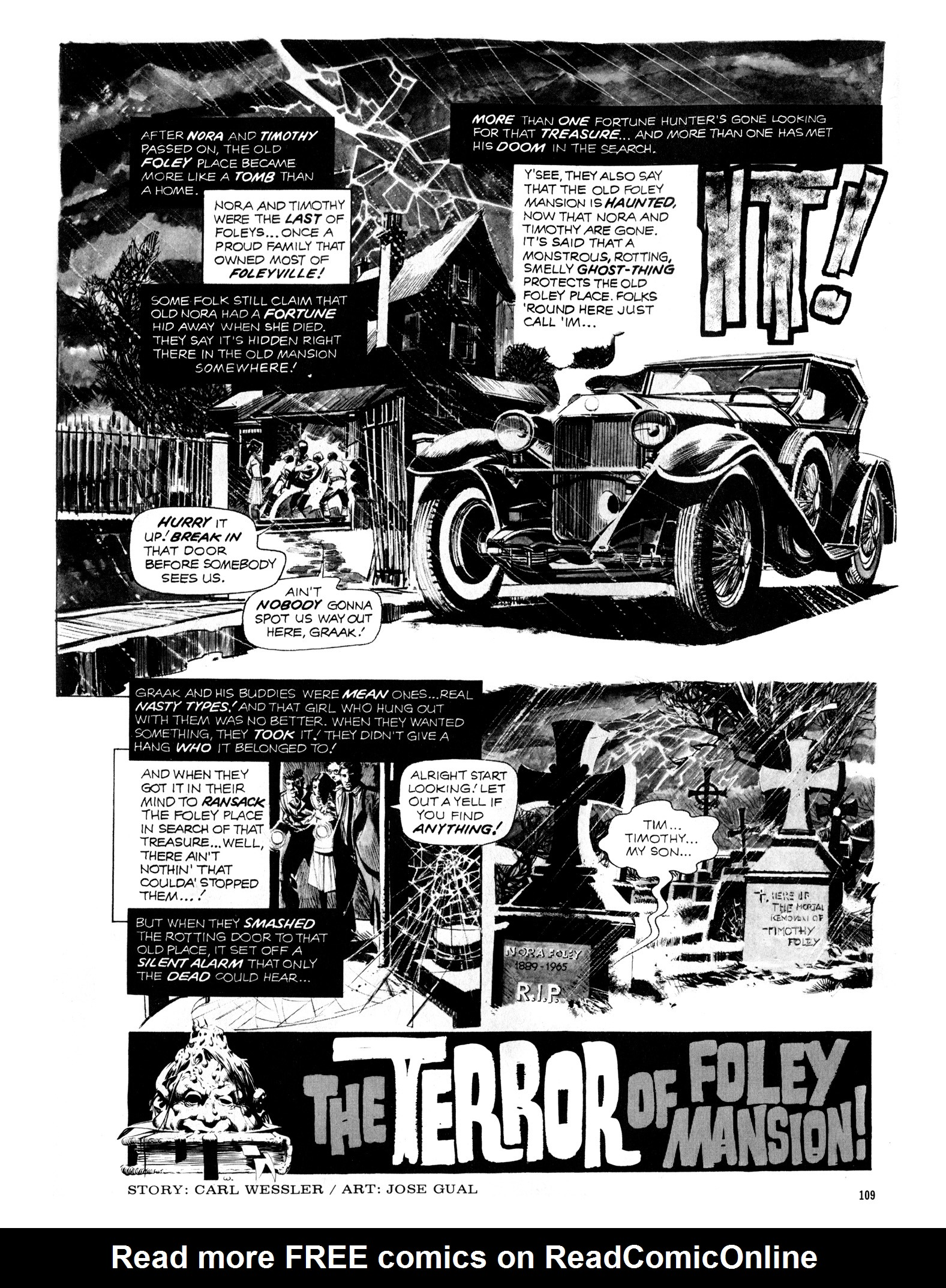 Read online Eerie Archives comic -  Issue # TPB 12 - 110