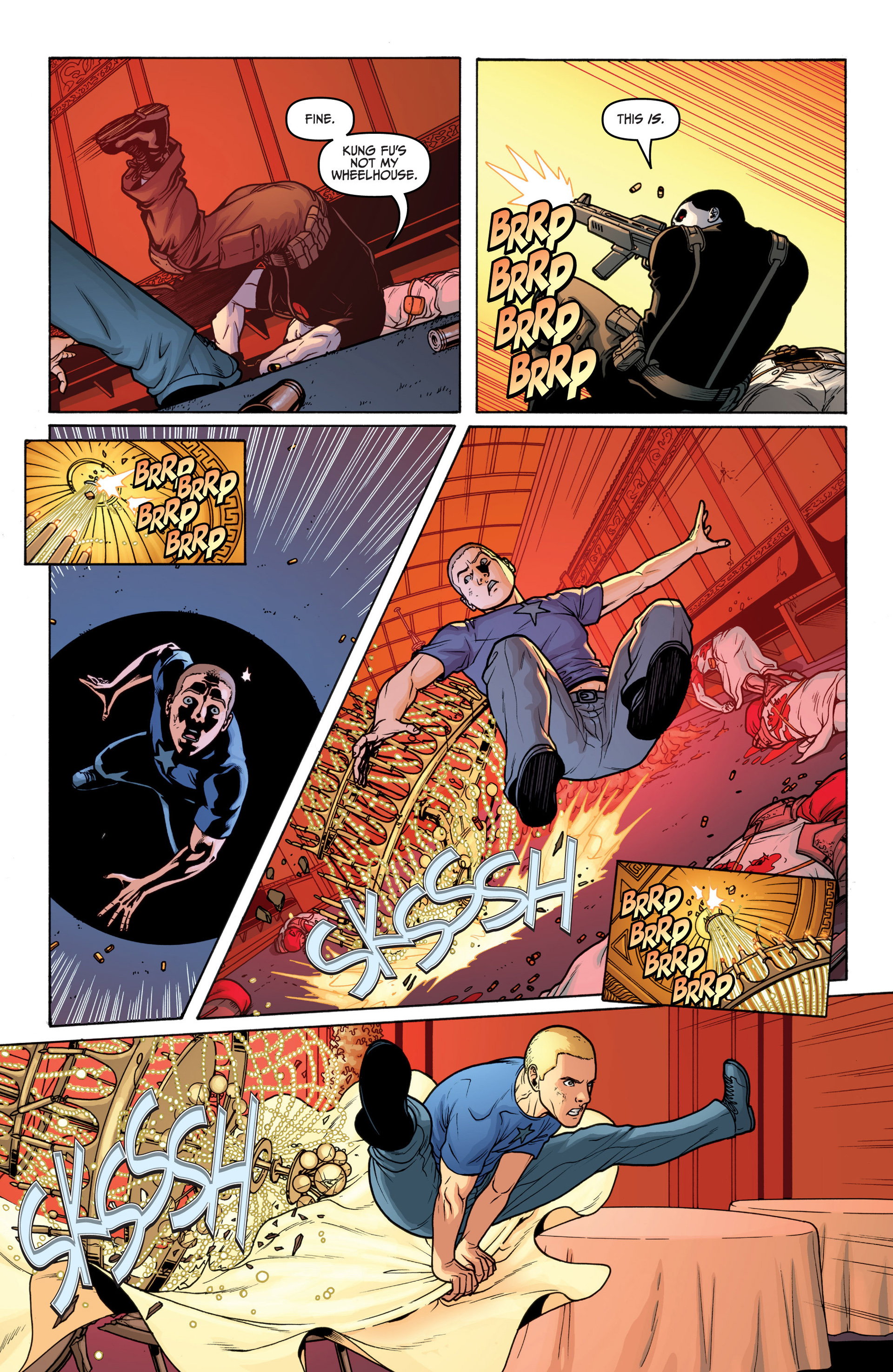 Archer and Armstrong 18 Page 19