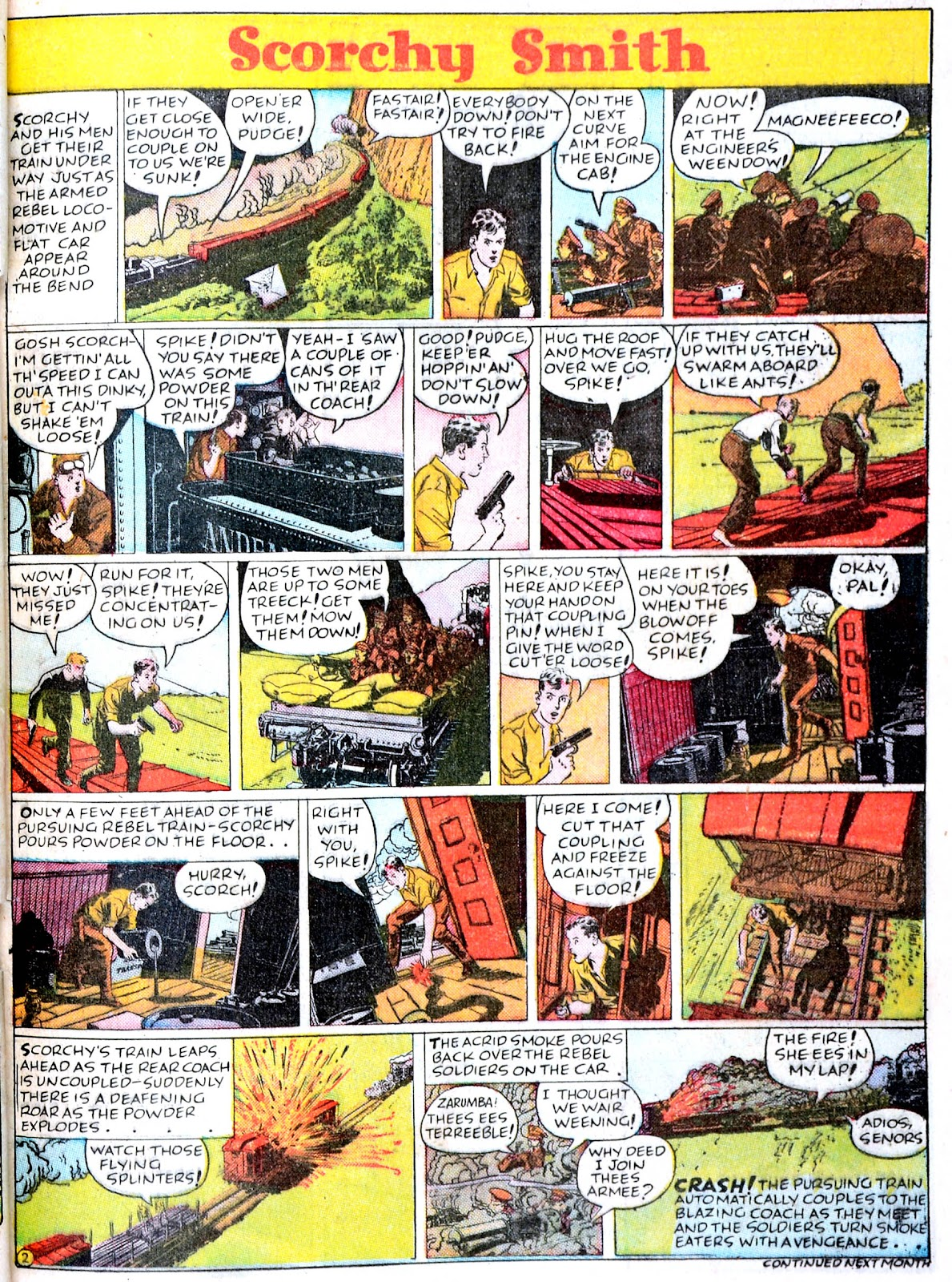 Read online Famous Funnies comic -  Issue #43 - 47