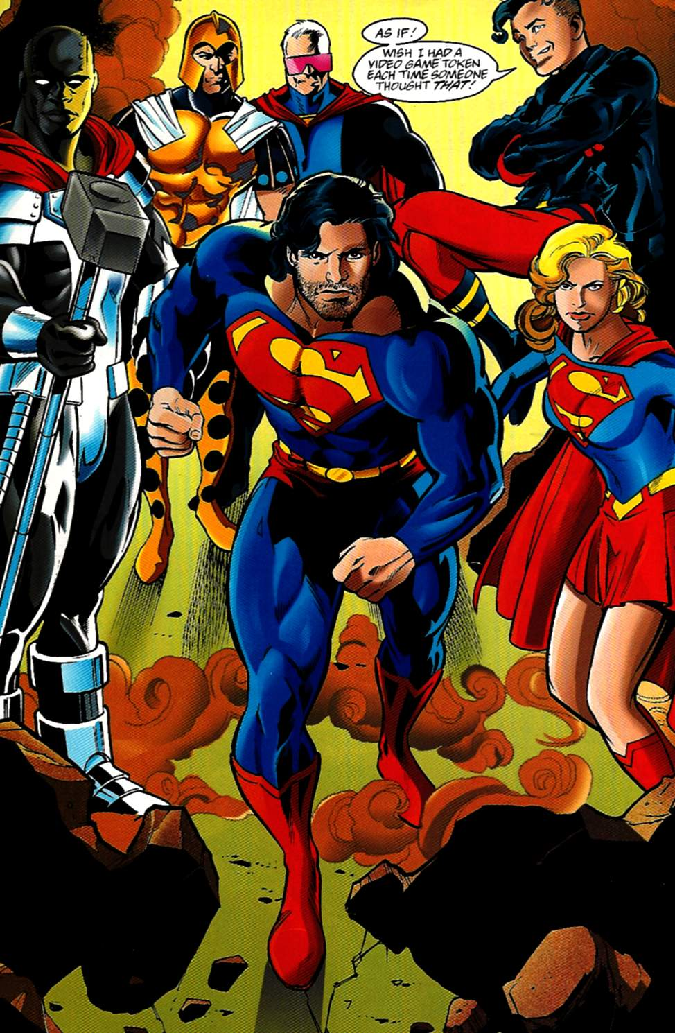 Read online Adventures of Superman (1987) comic -  Issue #531 - 8
